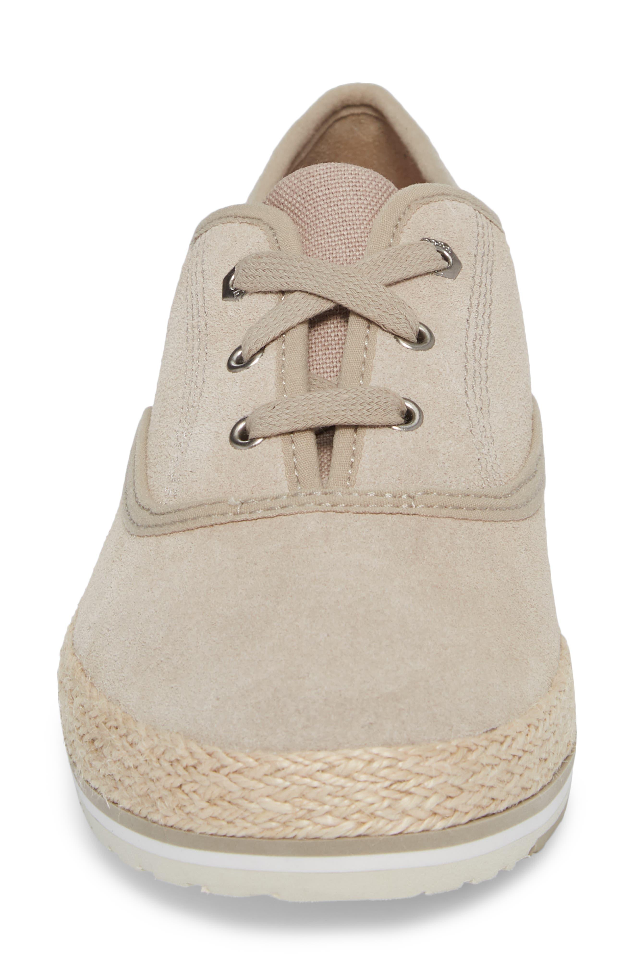Eivissa Sea Oxford Sneaker,                             Alternate thumbnail 4, color,                             270
