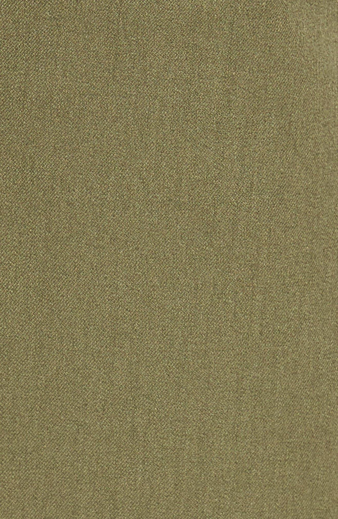 Crop Stretch Cotton Pants,                             Alternate thumbnail 97, color,