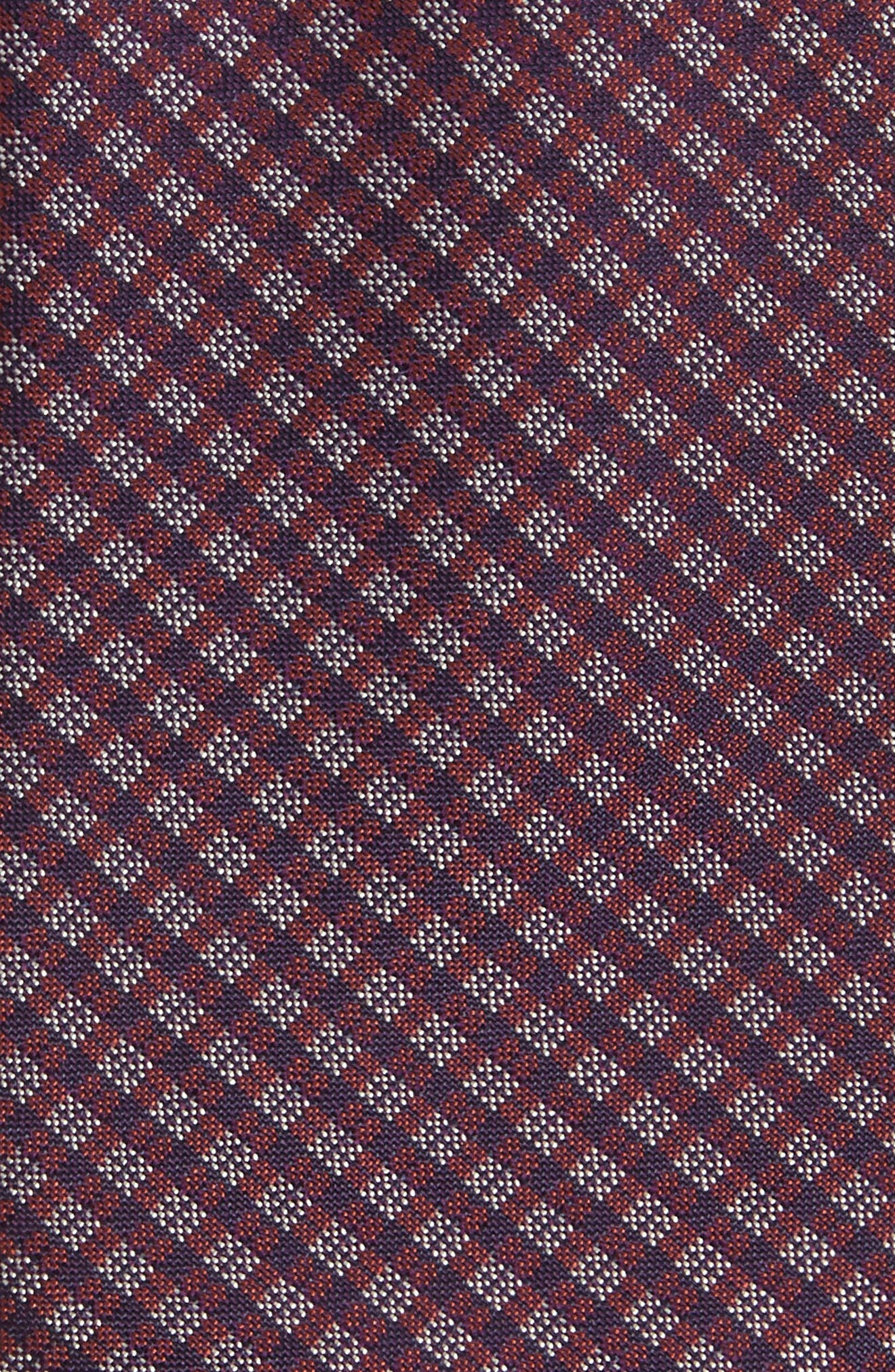 Microcheck Silk Tie,                             Alternate thumbnail 2, color,                             225
