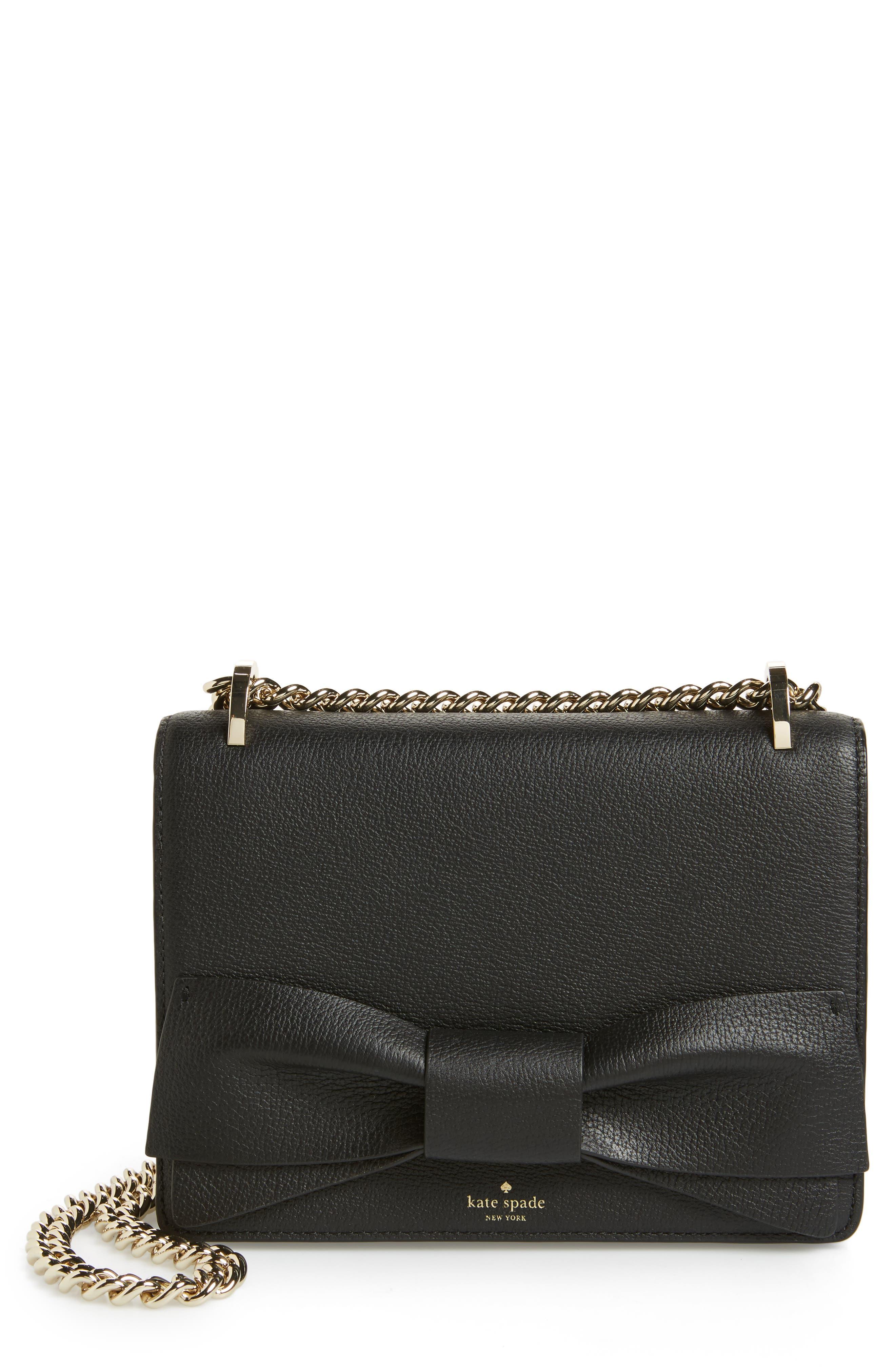 olive drive - marci leather shoulder bag,                         Main,                         color, 001