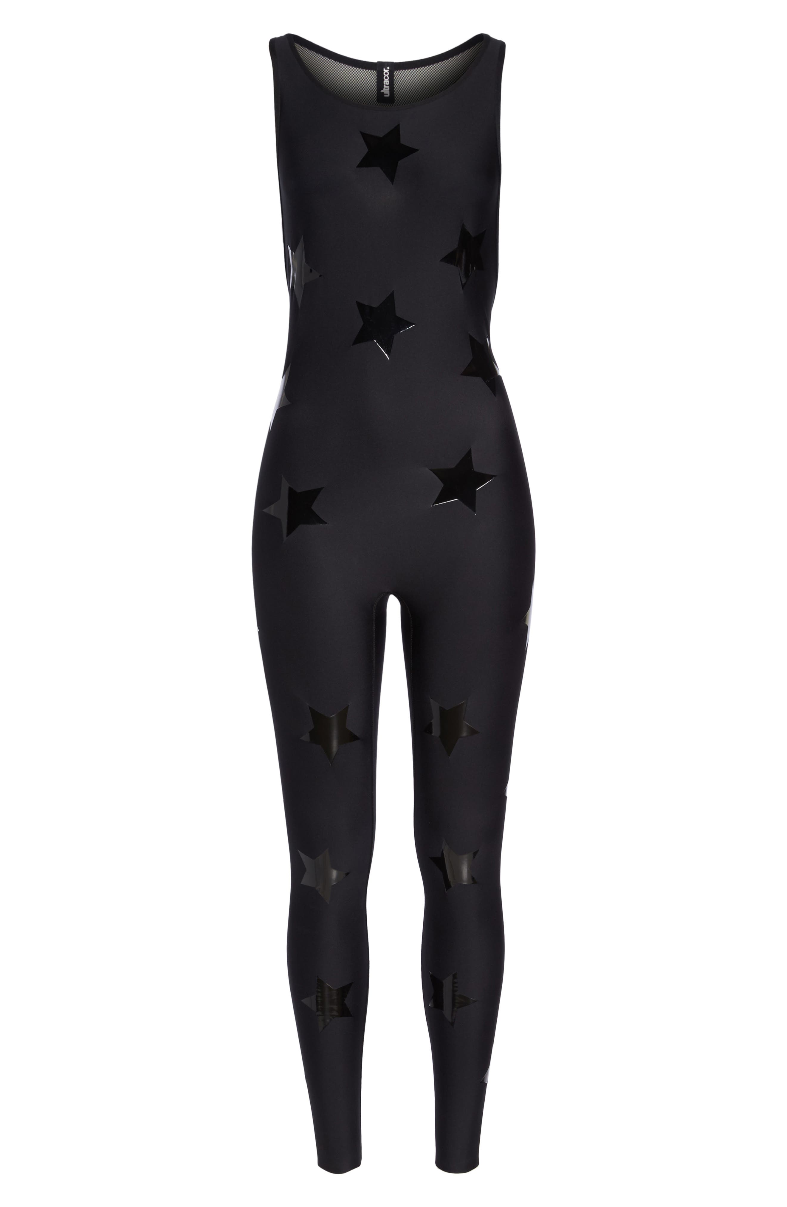 Motion Lux Knockout Unitard,                             Alternate thumbnail 7, color,                             002