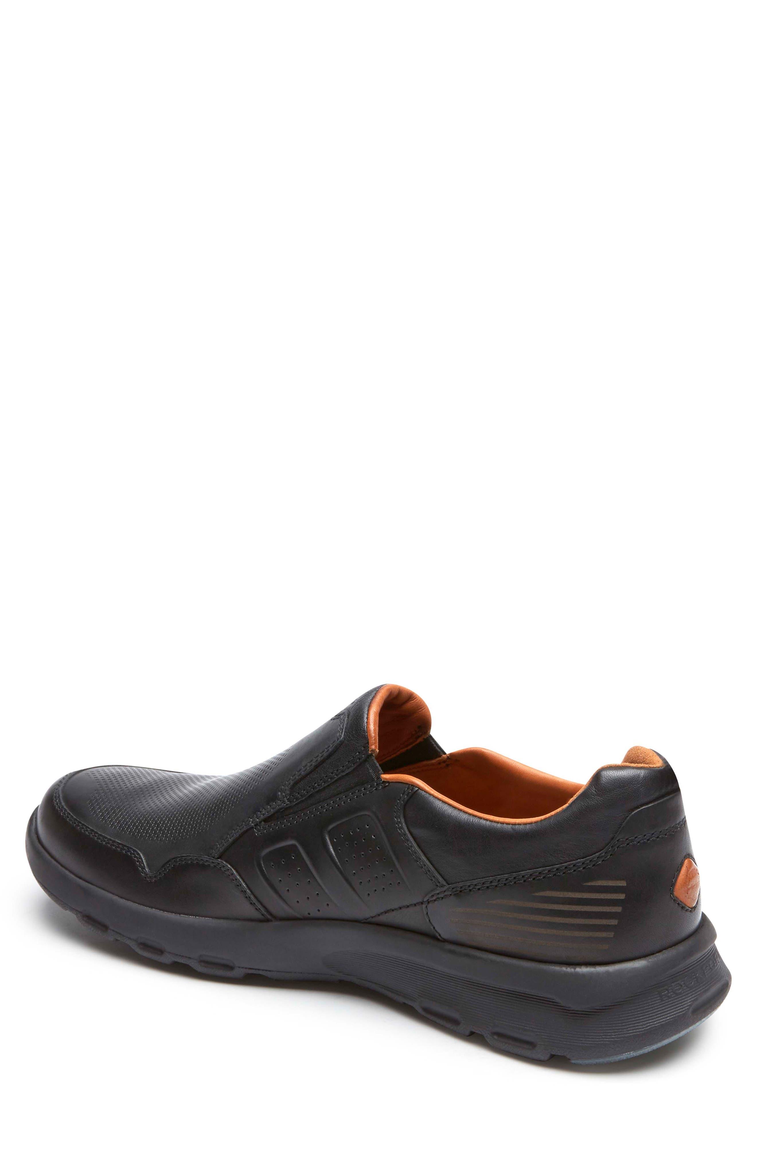 Let's Walk<sup>®</sup> Venetian Loafer,                             Alternate thumbnail 2, color,                             BLACK LEATHER