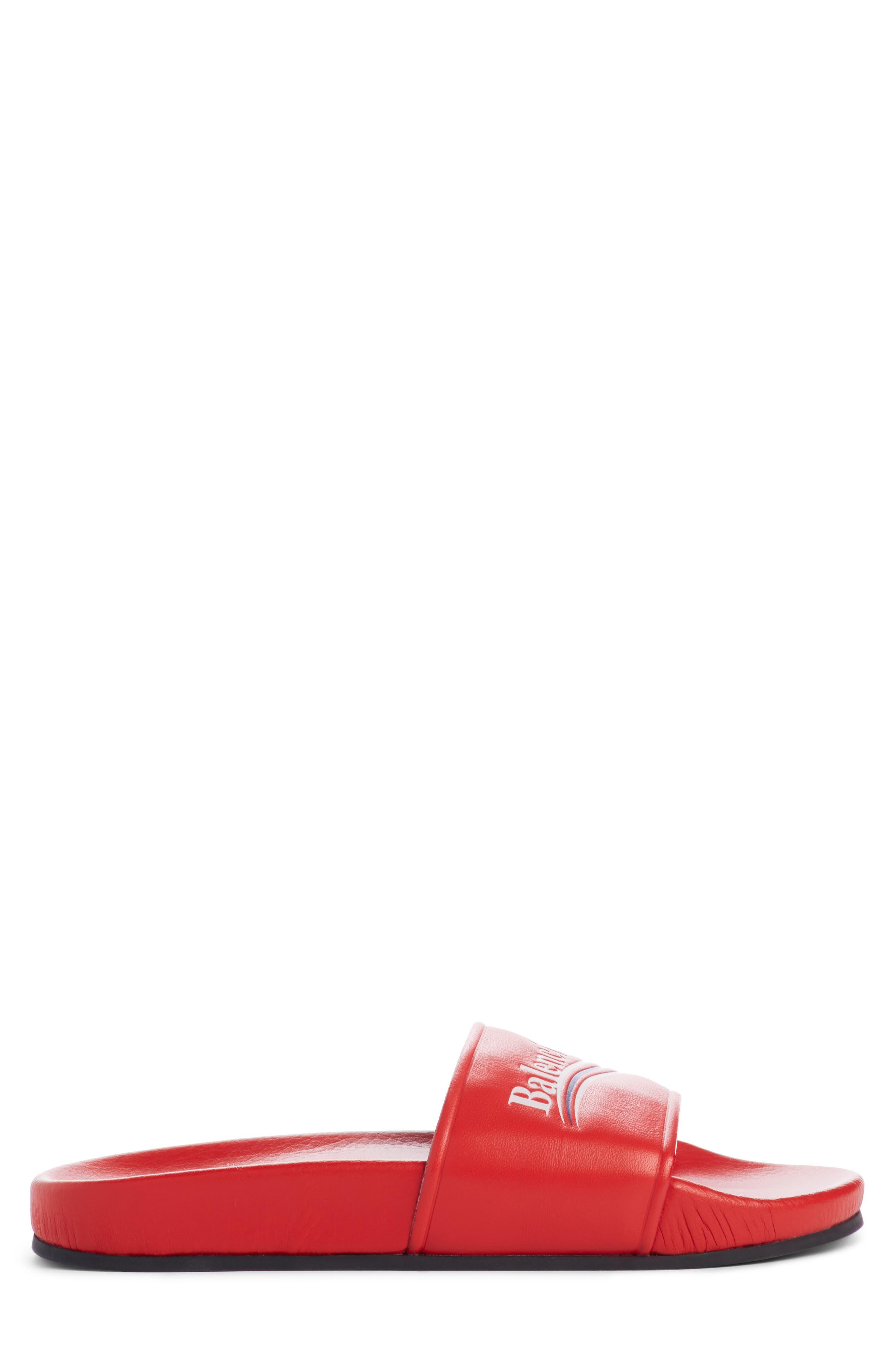 Logo Slide Sandal,                             Alternate thumbnail 3, color,                             641