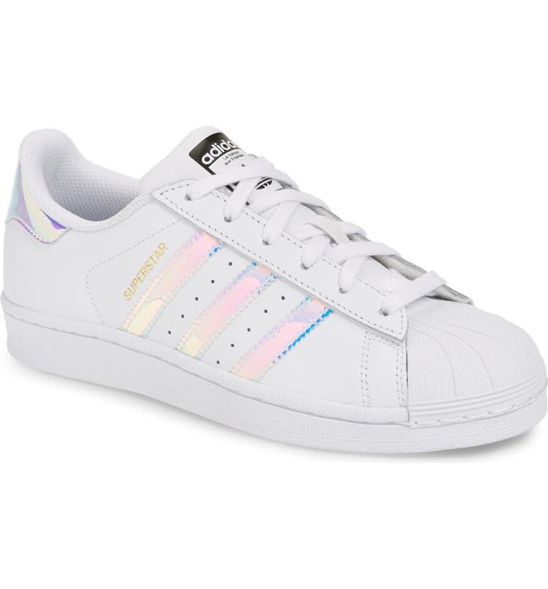 adidas Superstar - Iridescent Sneaker (Big Kid)   Nordstrom a095b6fbe288