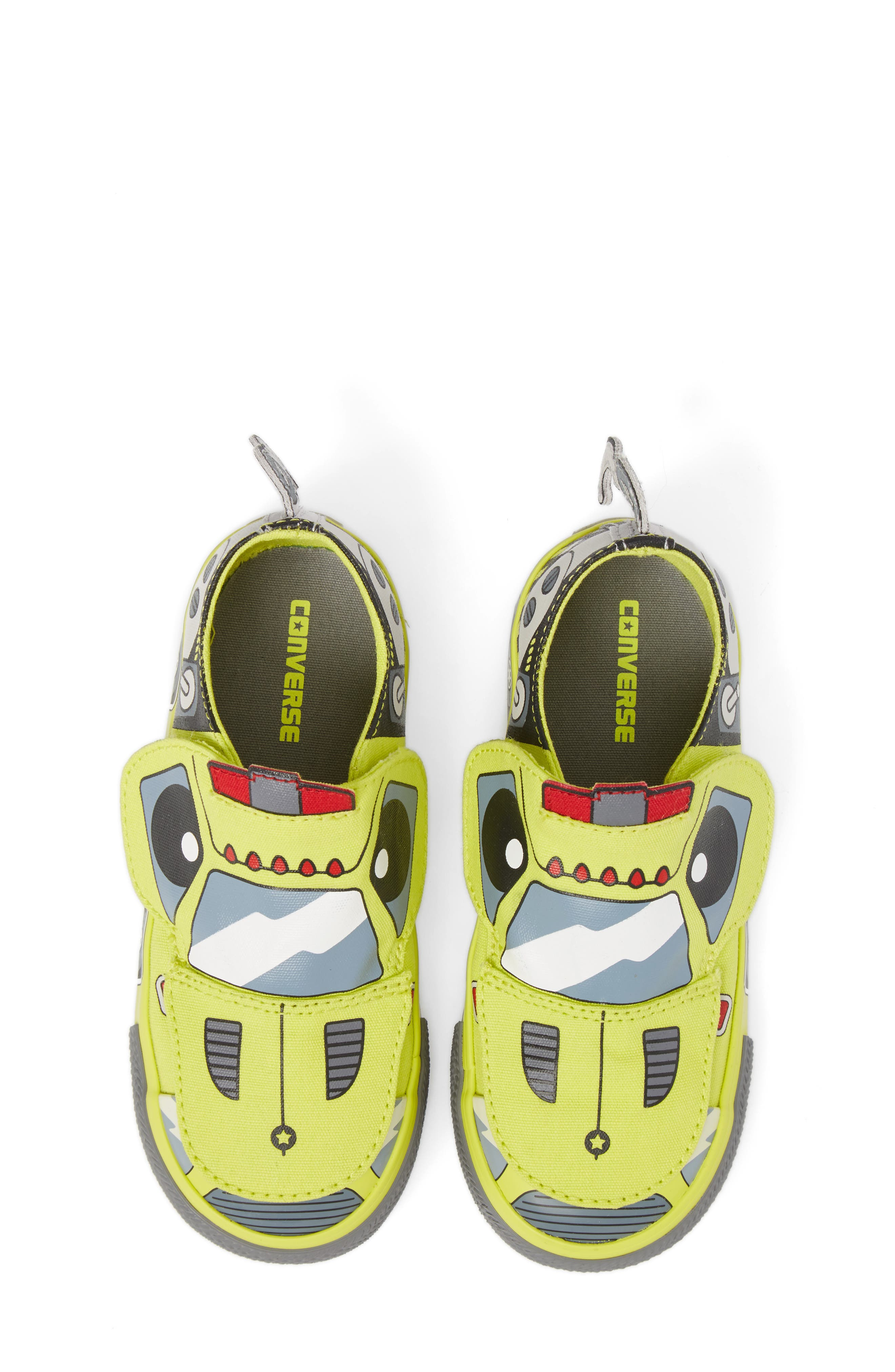 Chuck Taylor<sup>®</sup> All Star<sup>®</sup> Creatures Slip-On Sneaker,                             Alternate thumbnail 15, color,