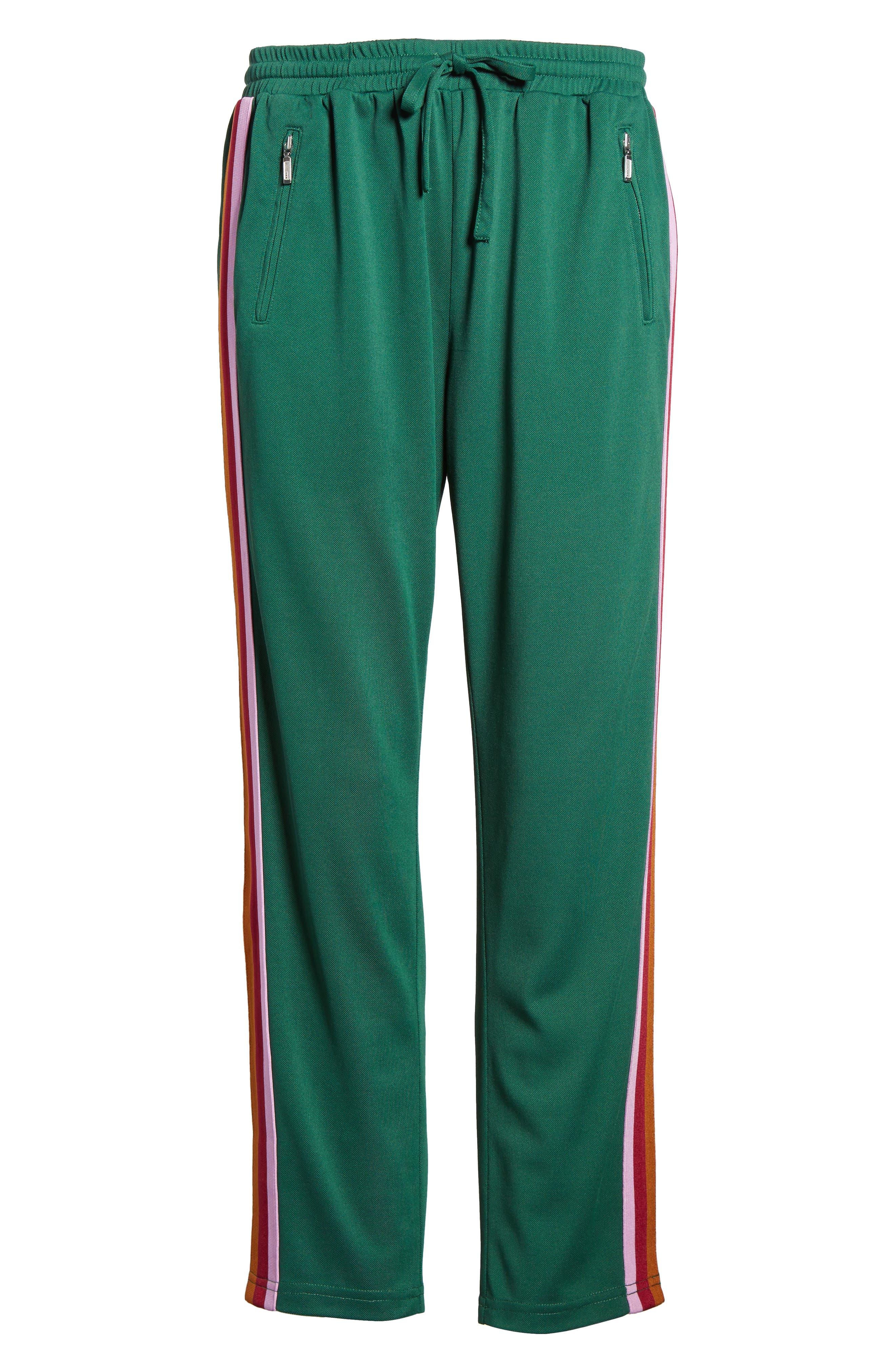 Jolie Crop Pants,                             Alternate thumbnail 7, color,                             EDEN/ PINK