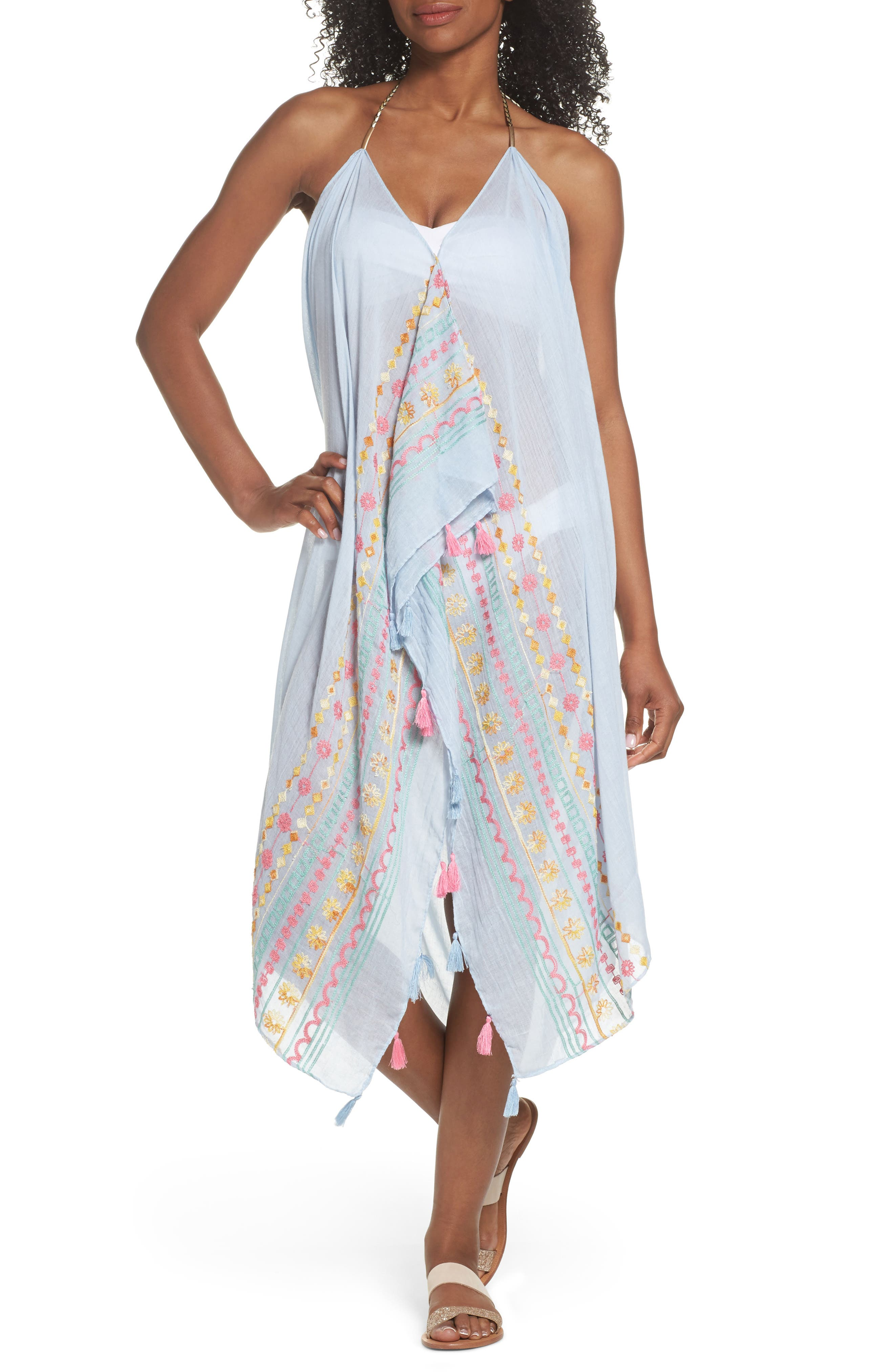 Beach to Street Cover-Up,                         Main,                         color, 455