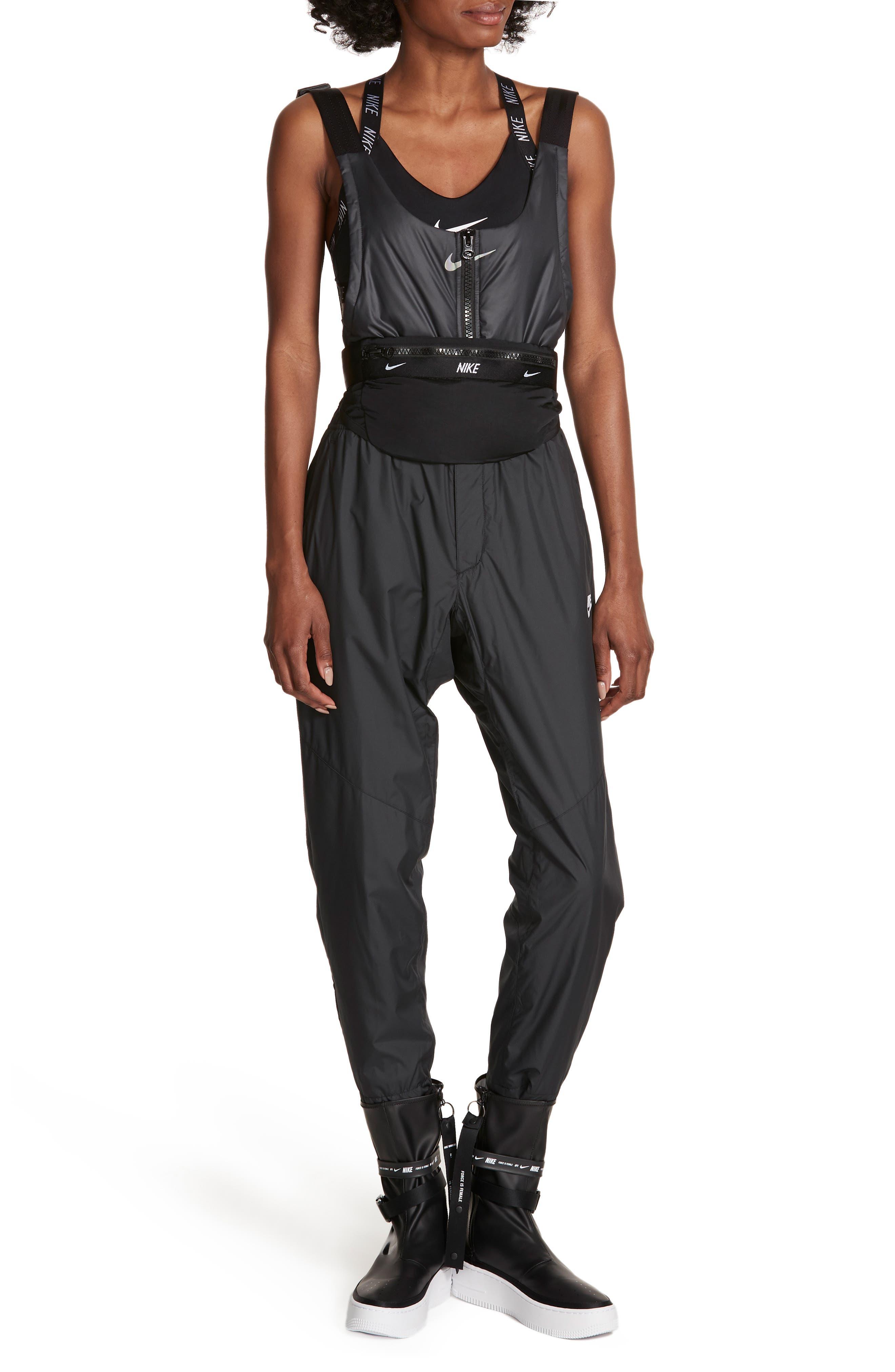 x Dianne Garcia Overalls,                         Main,                         color, BLACK