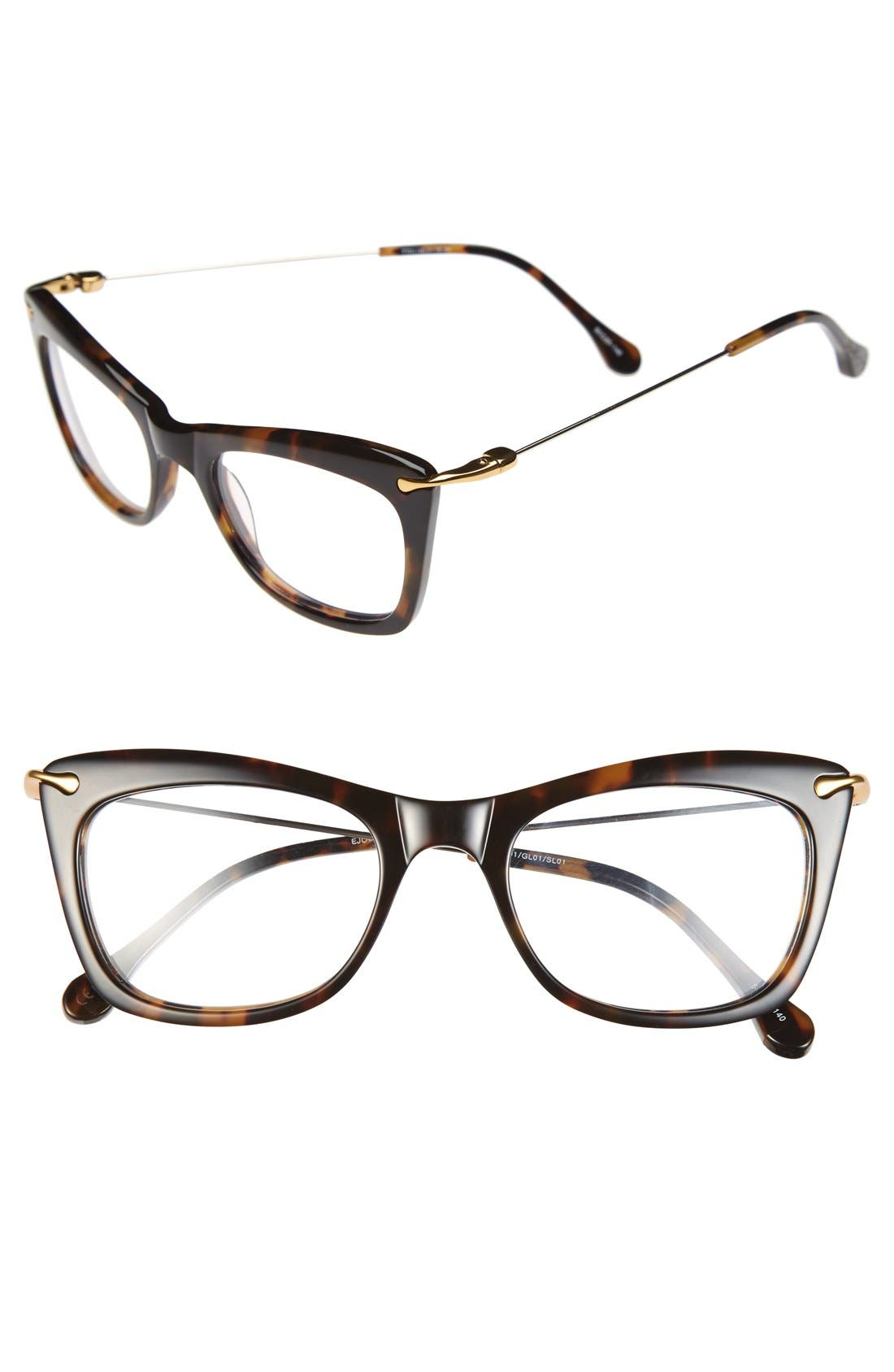 'Chrystie' 50mm Optical Glasses,                             Main thumbnail 4, color,