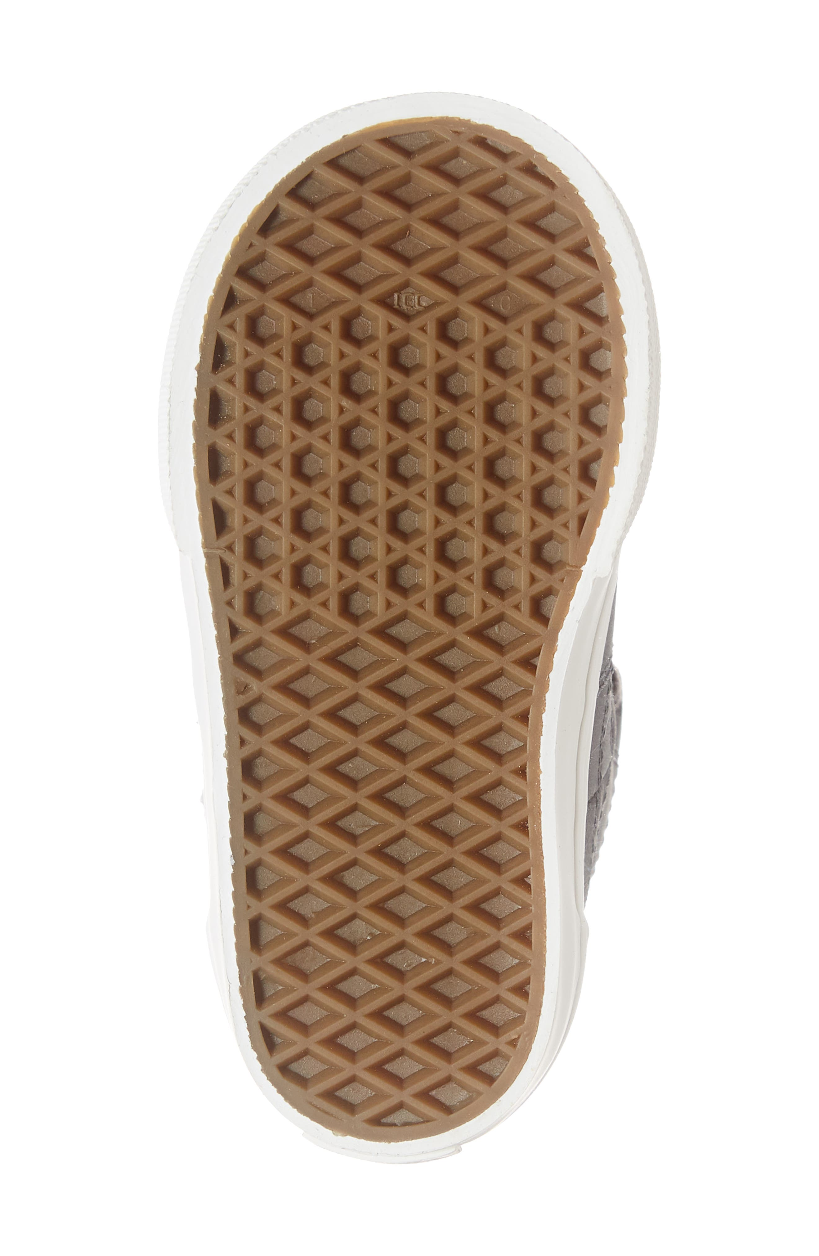 Half Cab Sneaker,                             Alternate thumbnail 6, color,                             VANSBUCK ASPHALT/ BLANC