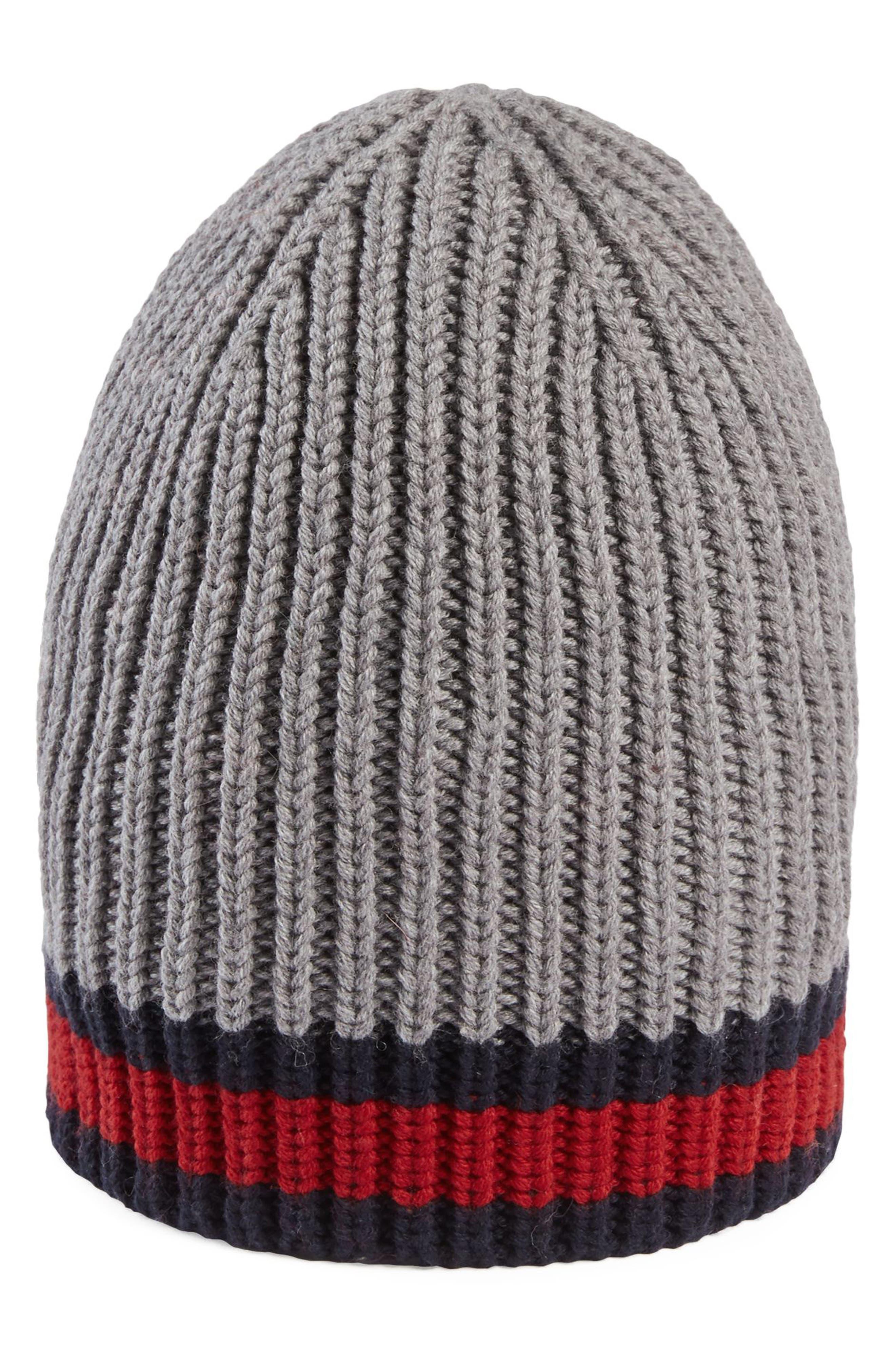 Stripe Wool Beanie,                             Main thumbnail 2, color,