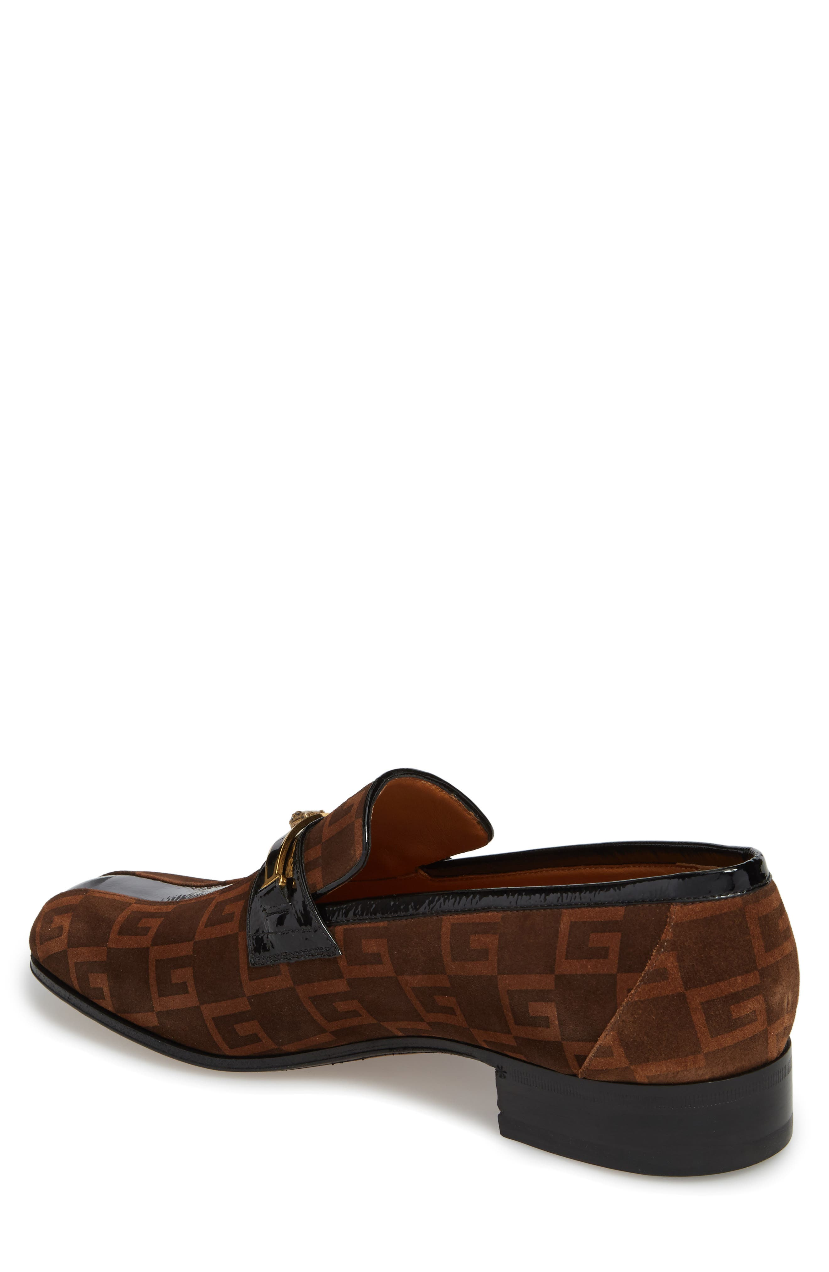 Square-G Loafer,                             Alternate thumbnail 2, color,                             NERO SIGARO