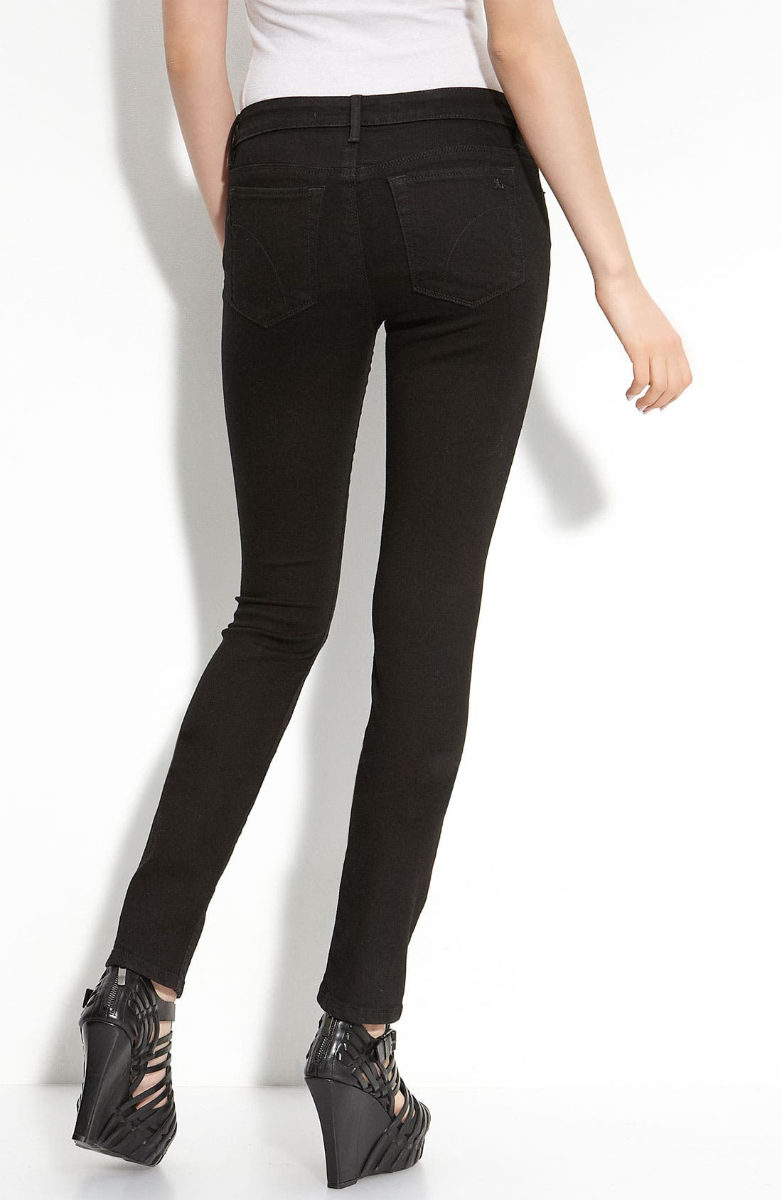 'Visionaire' Skinny Stretch Jeans,                             Alternate thumbnail 2, color,                             001