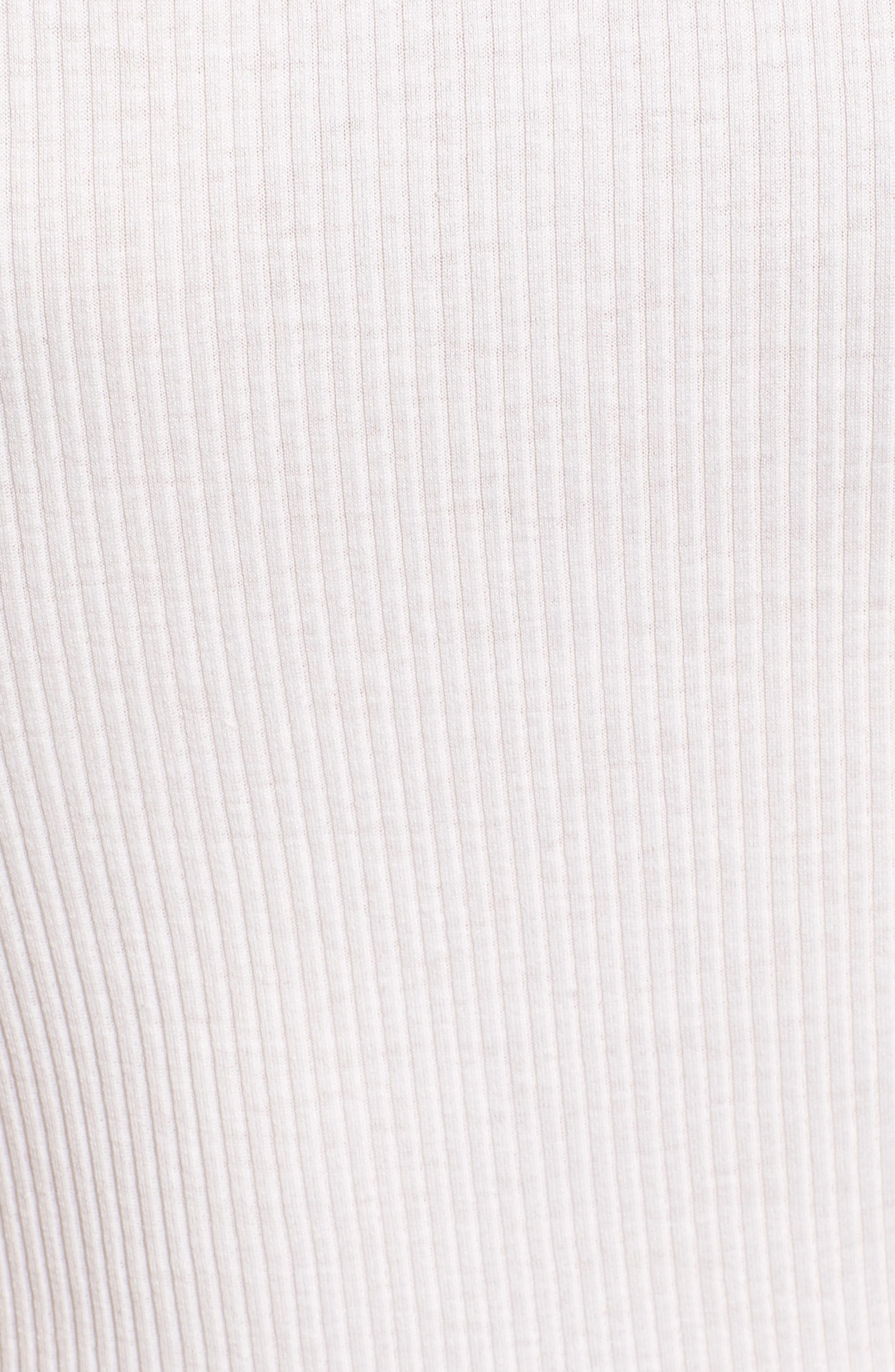 Babette Lace Trim Tank,                             Alternate thumbnail 5, color,                             NEW WHITE