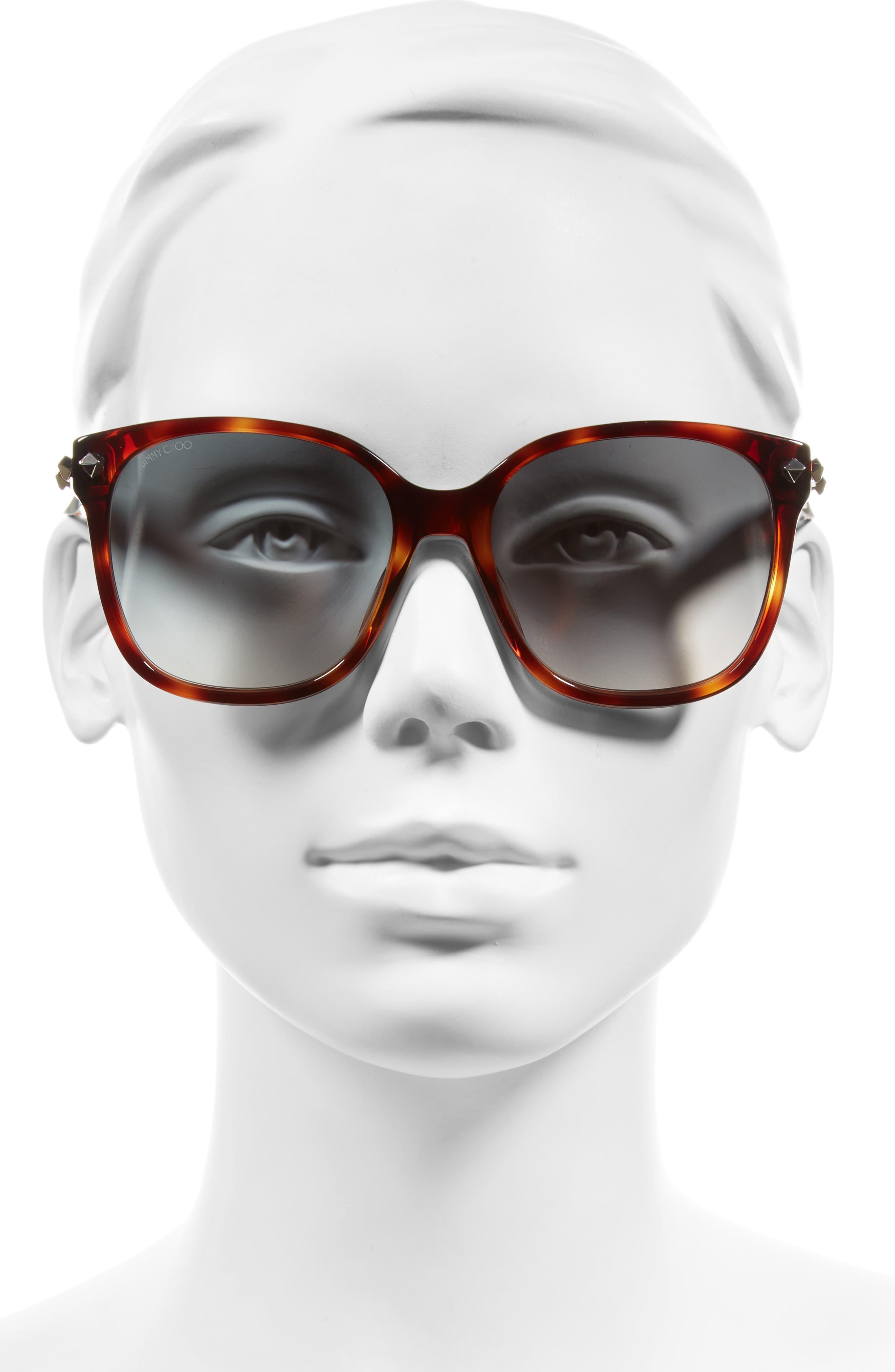 Demas 56mm Sunglasses,                             Alternate thumbnail 6, color,