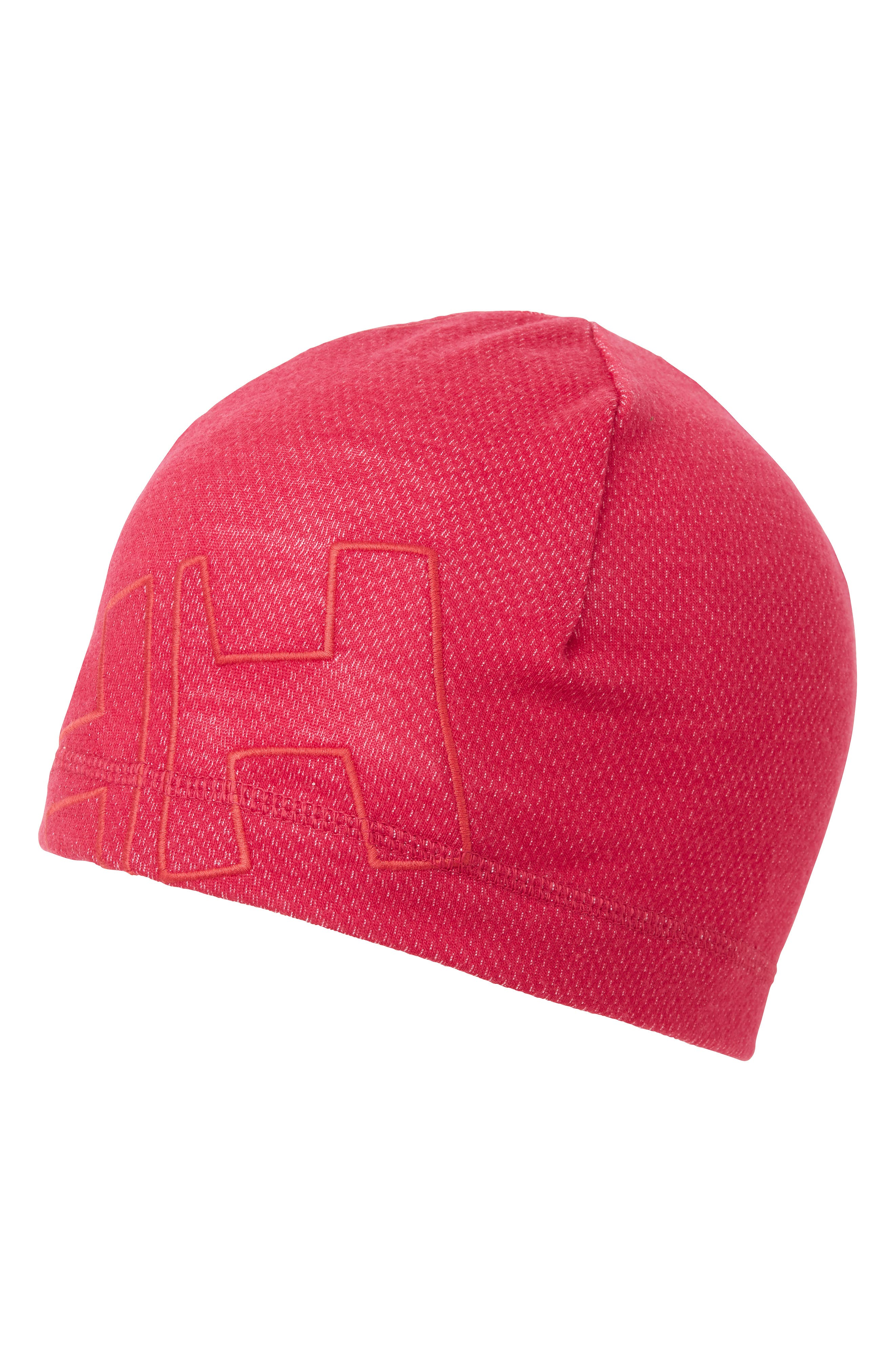 HELLY HANSEN Warm Wool Blend Beanie - Red in Persian Red