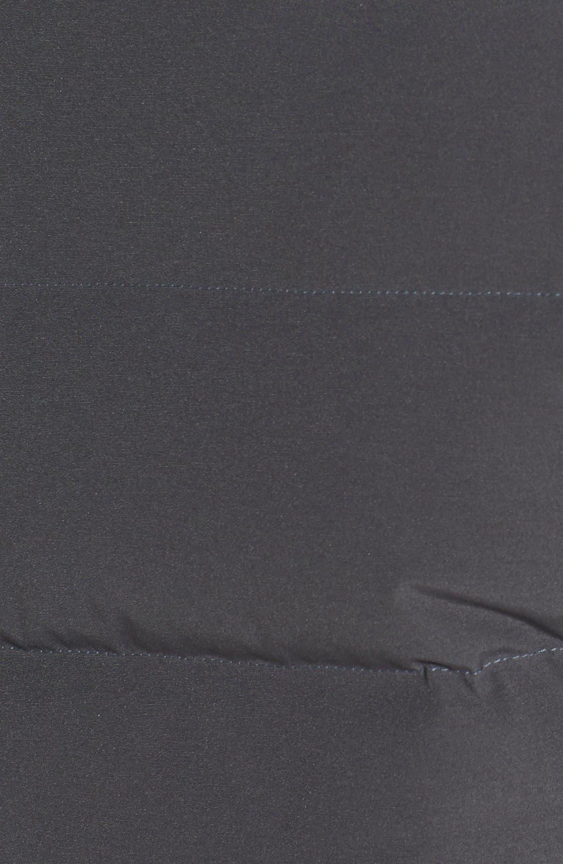 'Freestyle' Slim Fit Down Vest,                             Alternate thumbnail 3, color,                             GRAPHITE