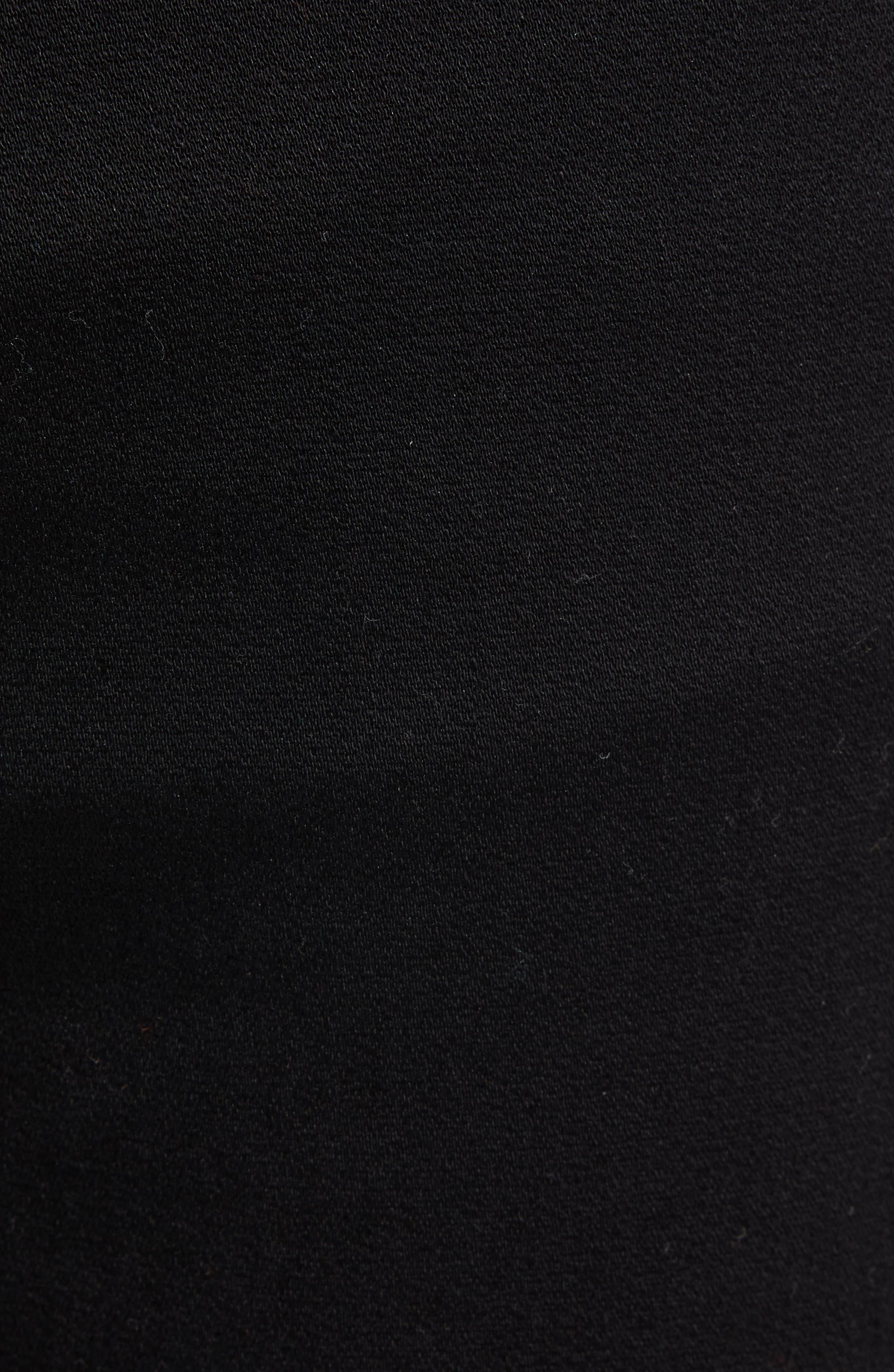 734 Skinny Fit Jeans,                             Alternate thumbnail 5, color,                             BLACK