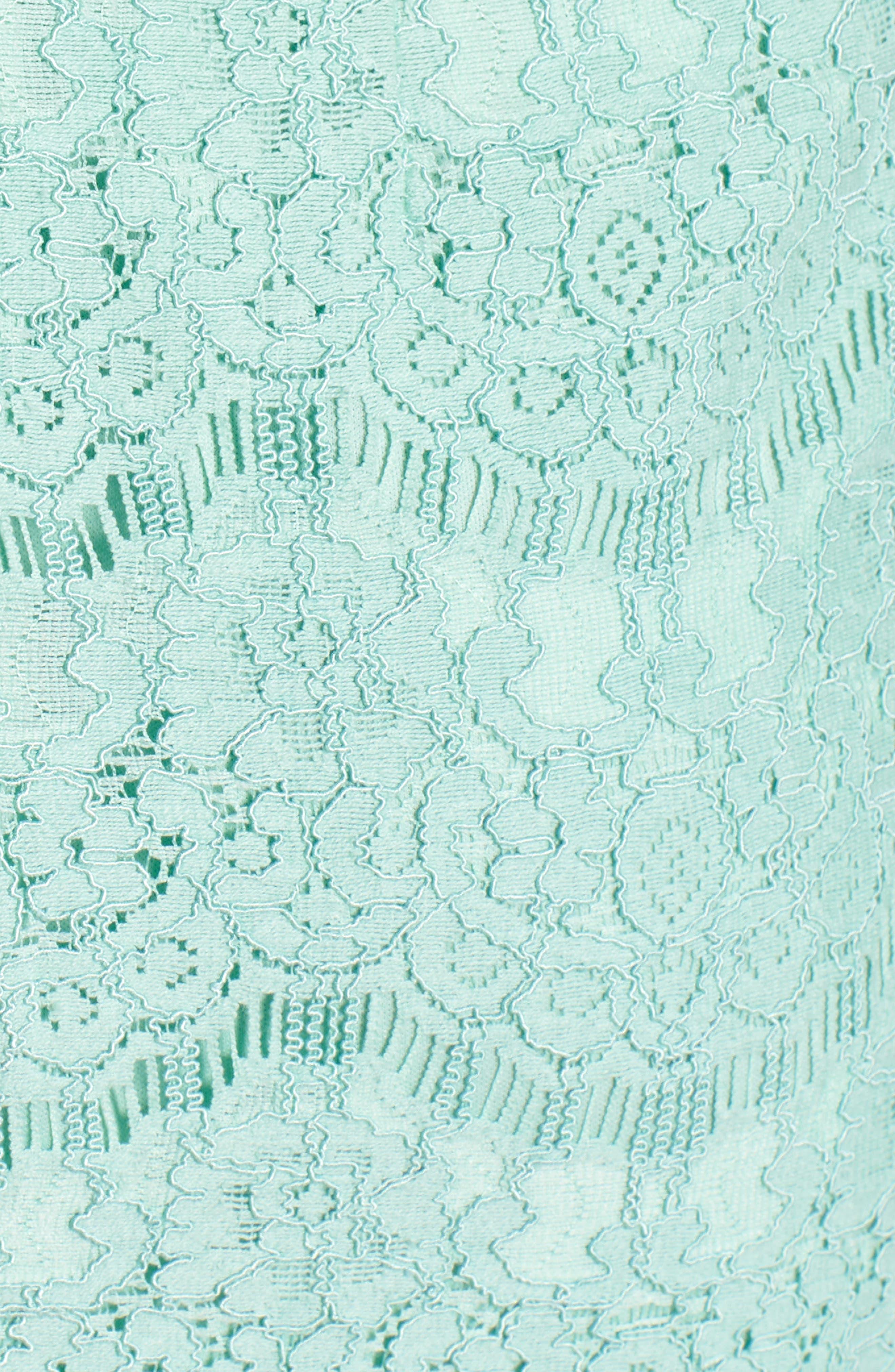 Lace Body-Con Minidress,                             Alternate thumbnail 19, color,