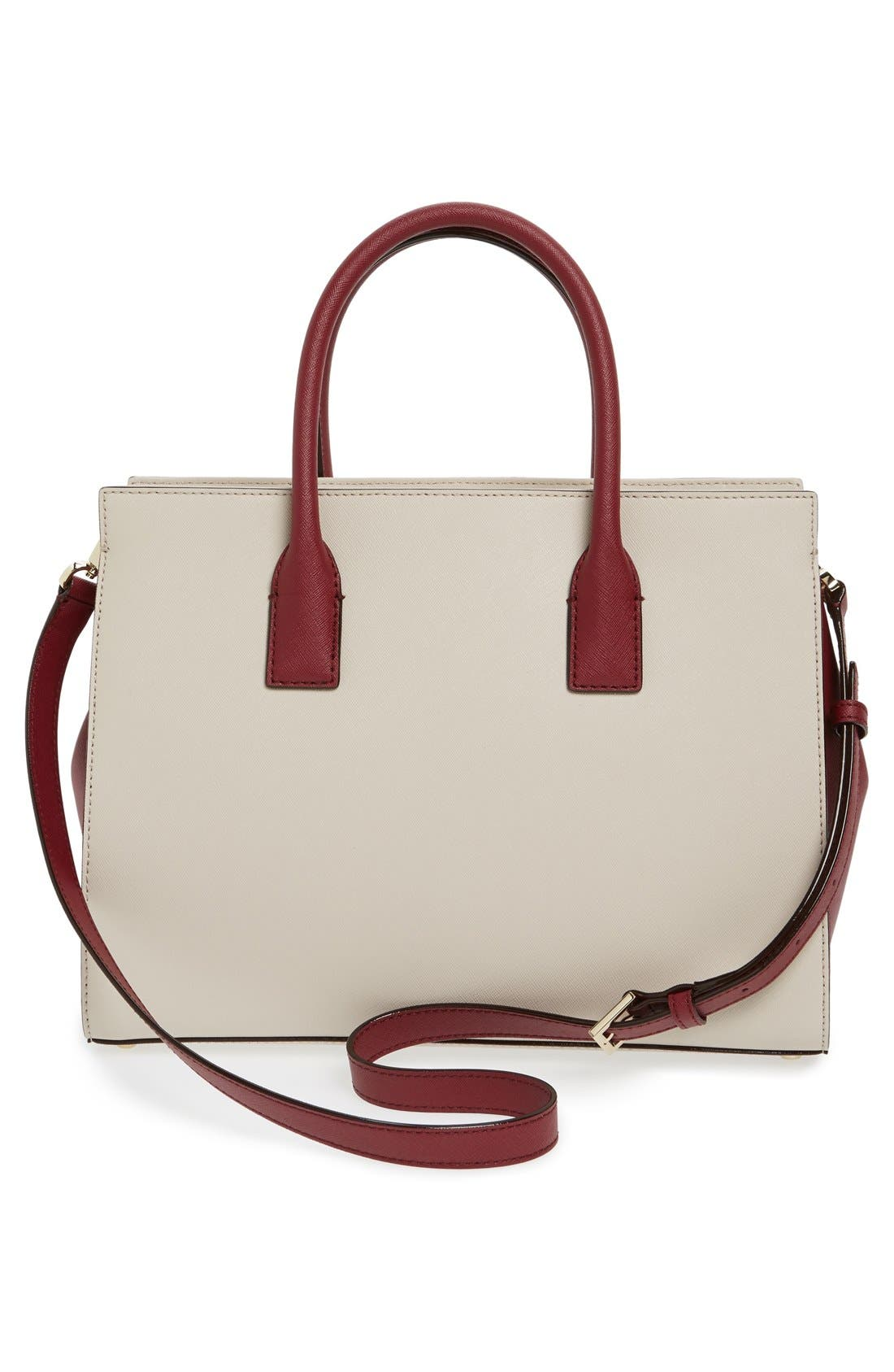 cameron street - candace leather satchel,                             Alternate thumbnail 61, color,