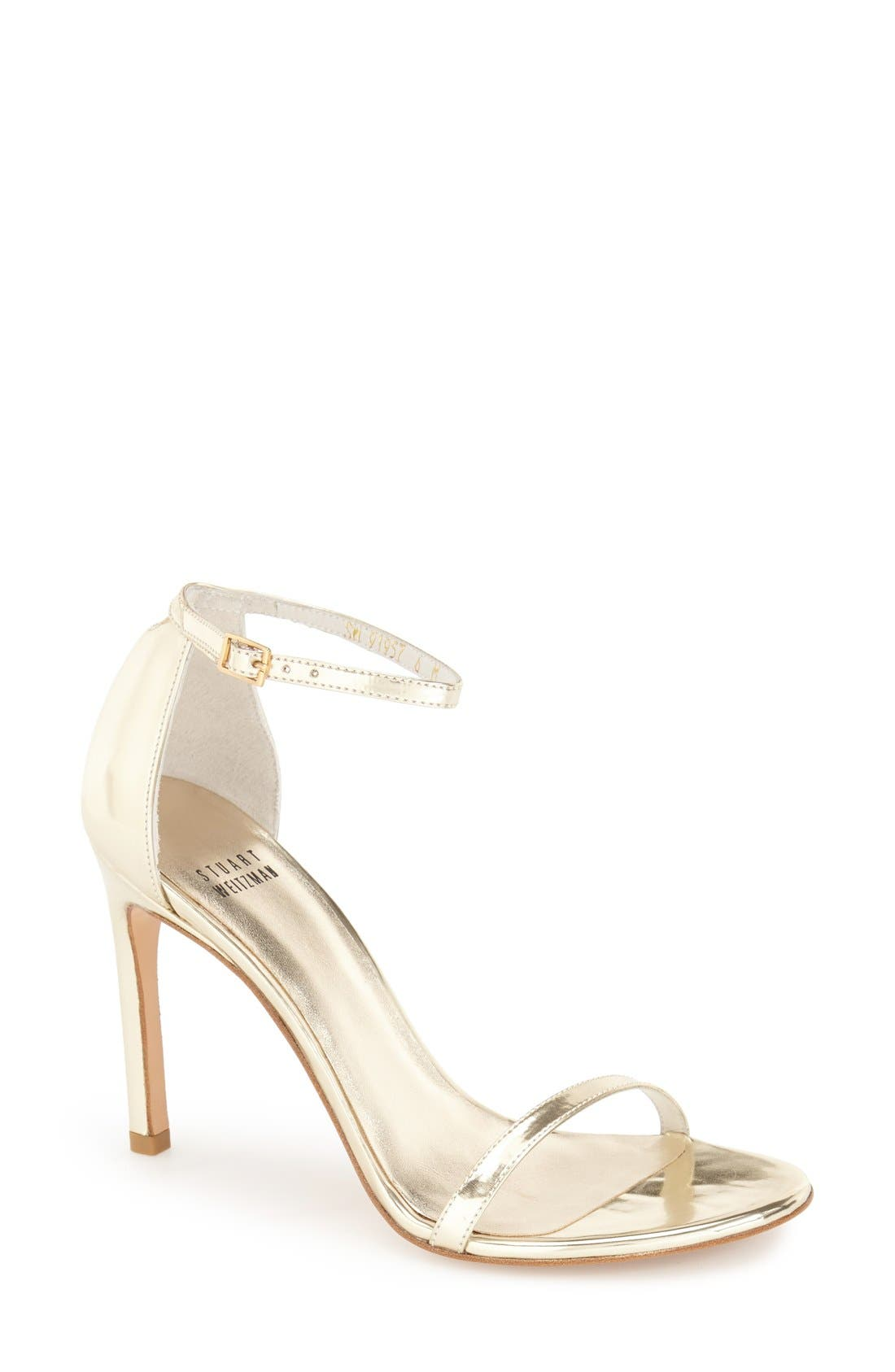 Nudistsong Ankle Strap Sandal,                             Main thumbnail 40, color,