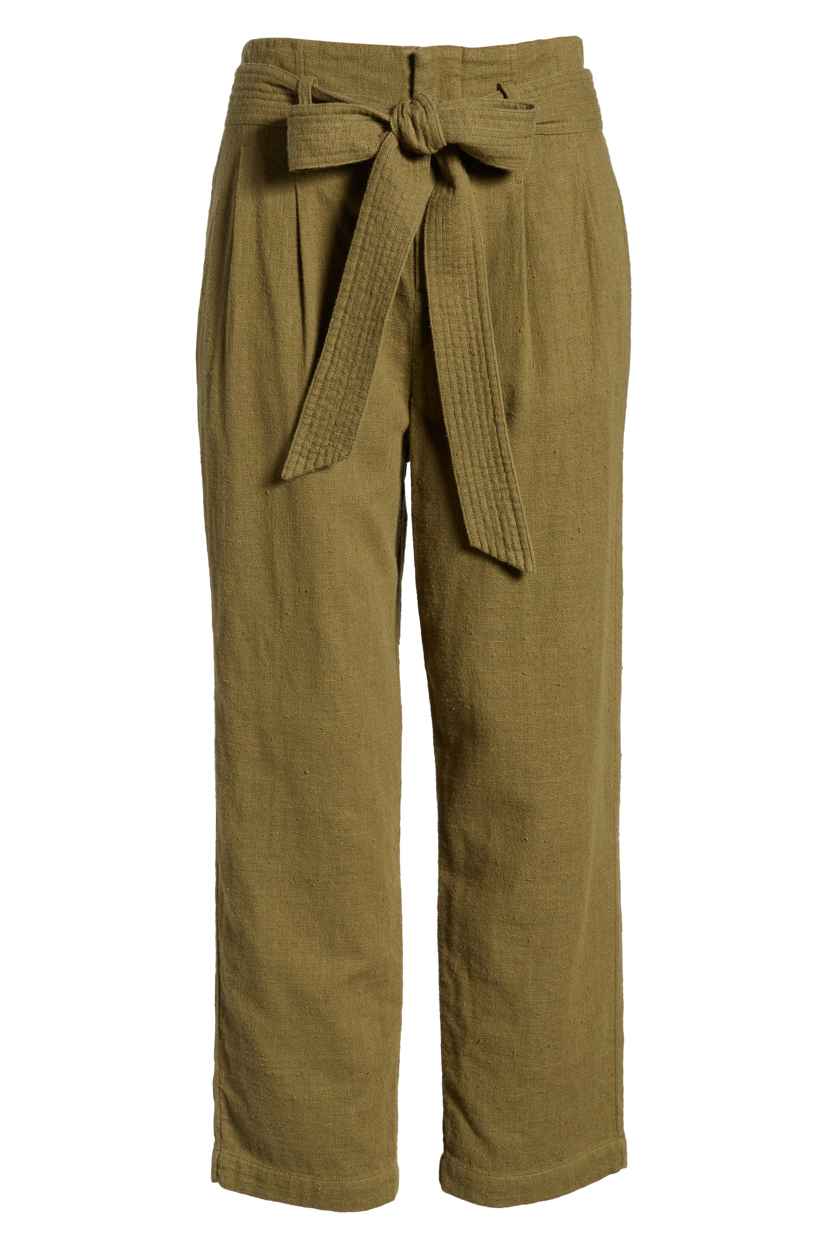 Darena Pants,                             Alternate thumbnail 6, color,                             OLIVE GROVE