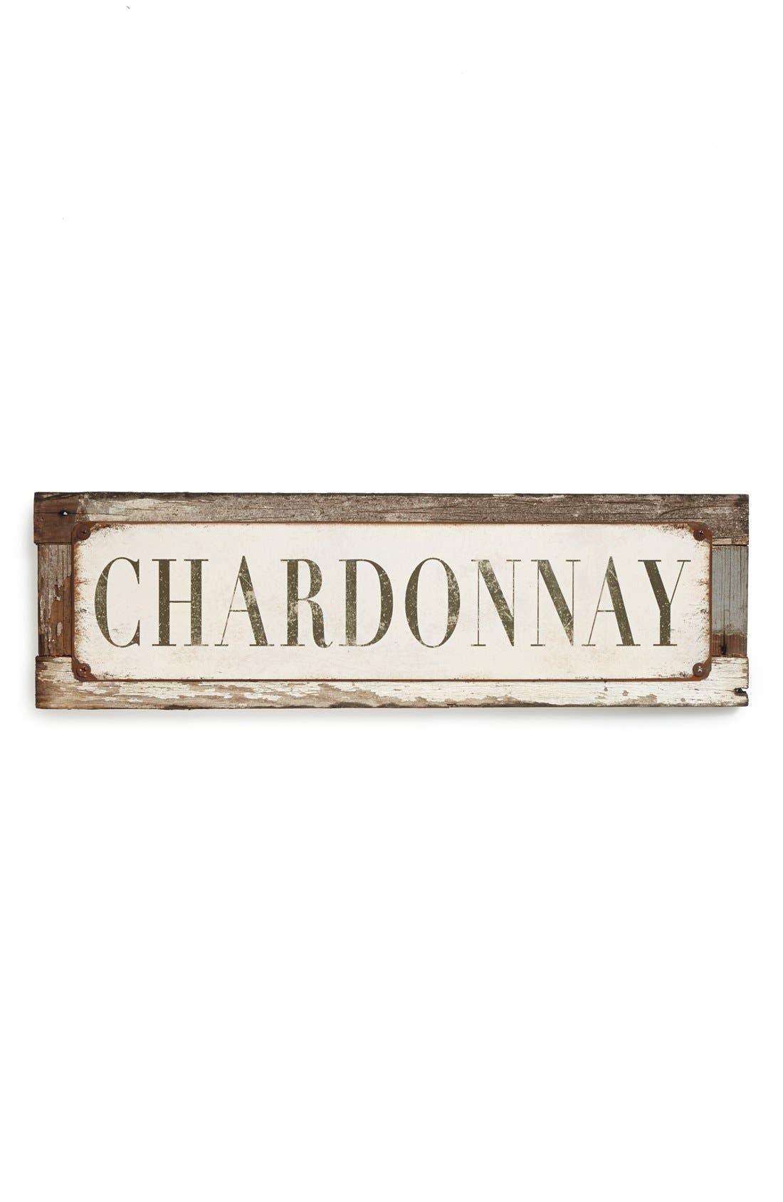'Chardonnay' Sign,                             Main thumbnail 1, color,                             250