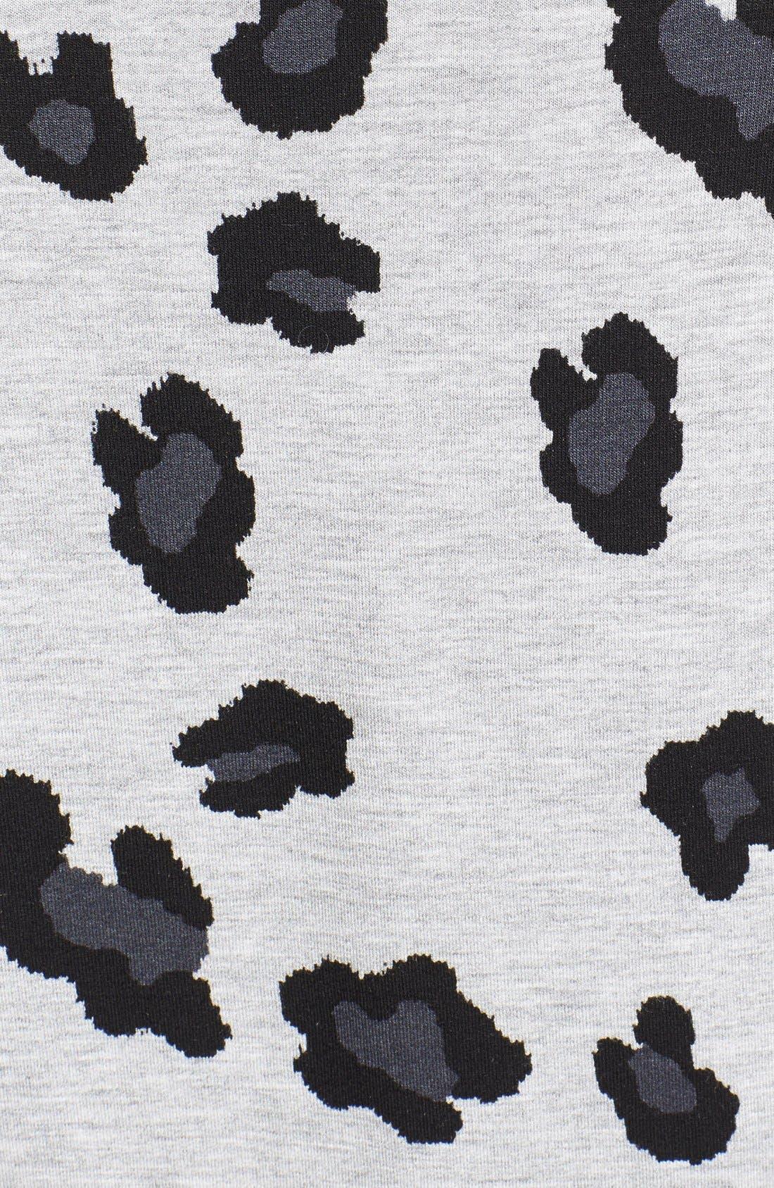 Animal Print Sweatshirt,                             Alternate thumbnail 2, color,                             020