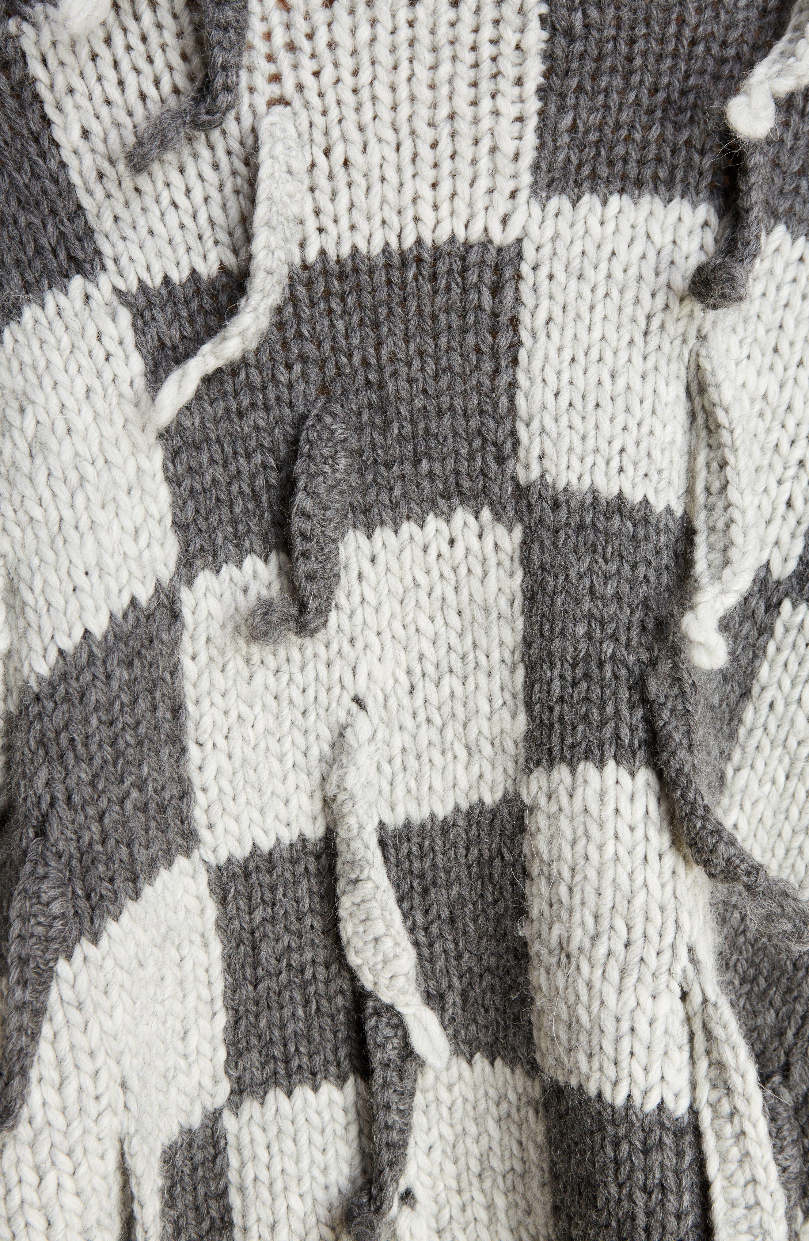 Chunky Knit Wool & Alpaca Sweater,                             Alternate thumbnail 5, color,                             023