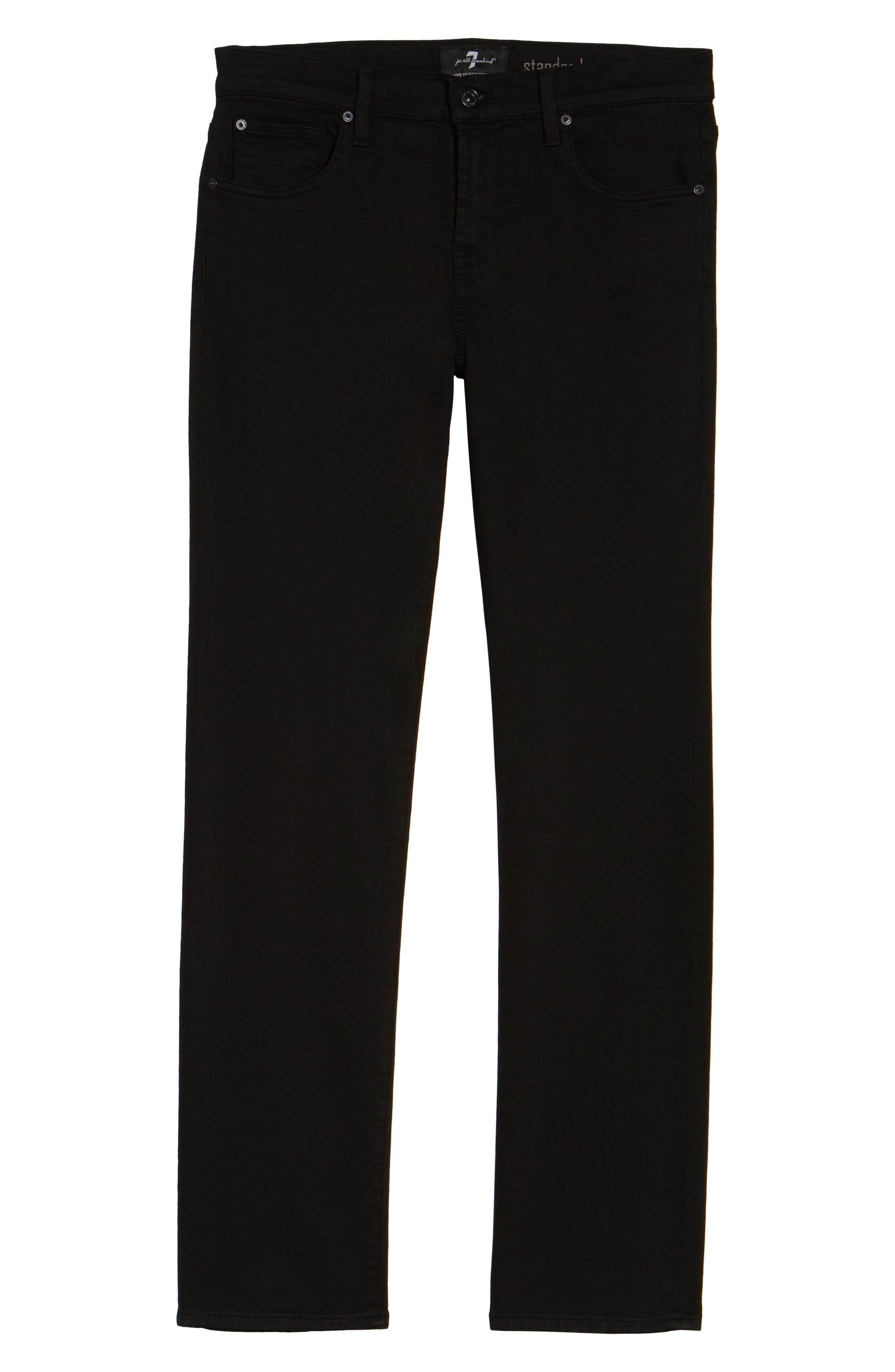The Standard Straight Leg Jeans,                             Alternate thumbnail 6, color,                             ANNEX BLACK