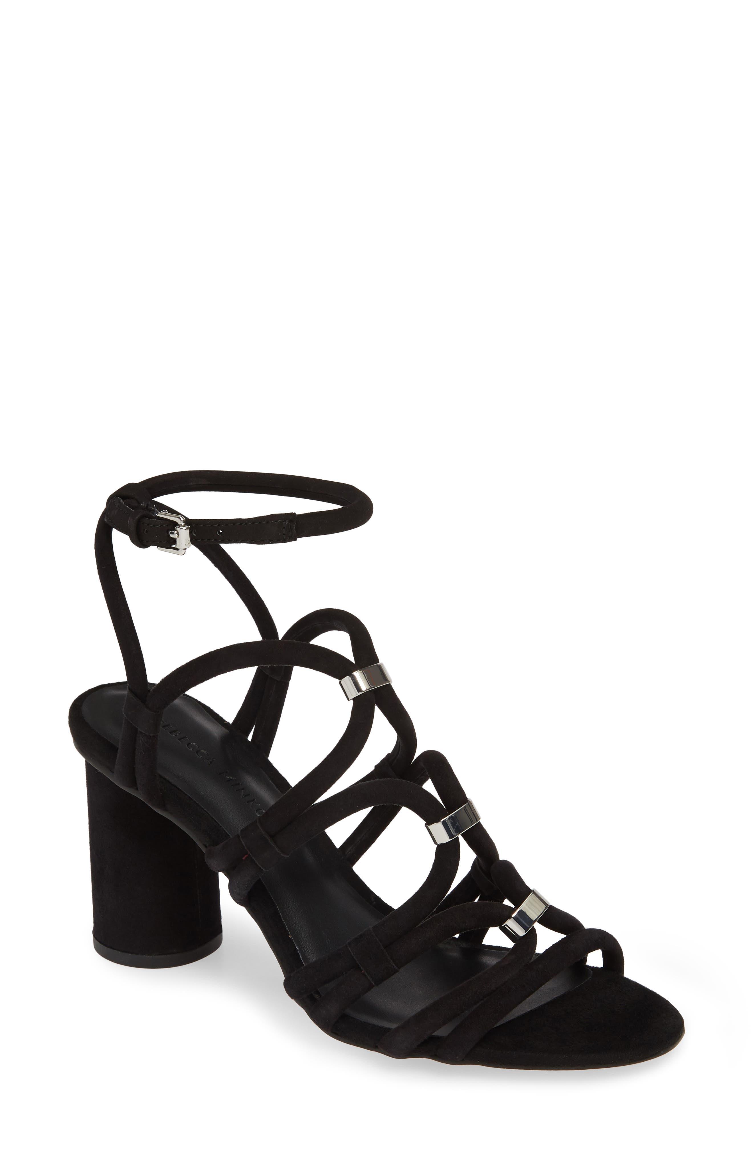 Rebecca Minkoff Apolline Strappy Sandal, Black
