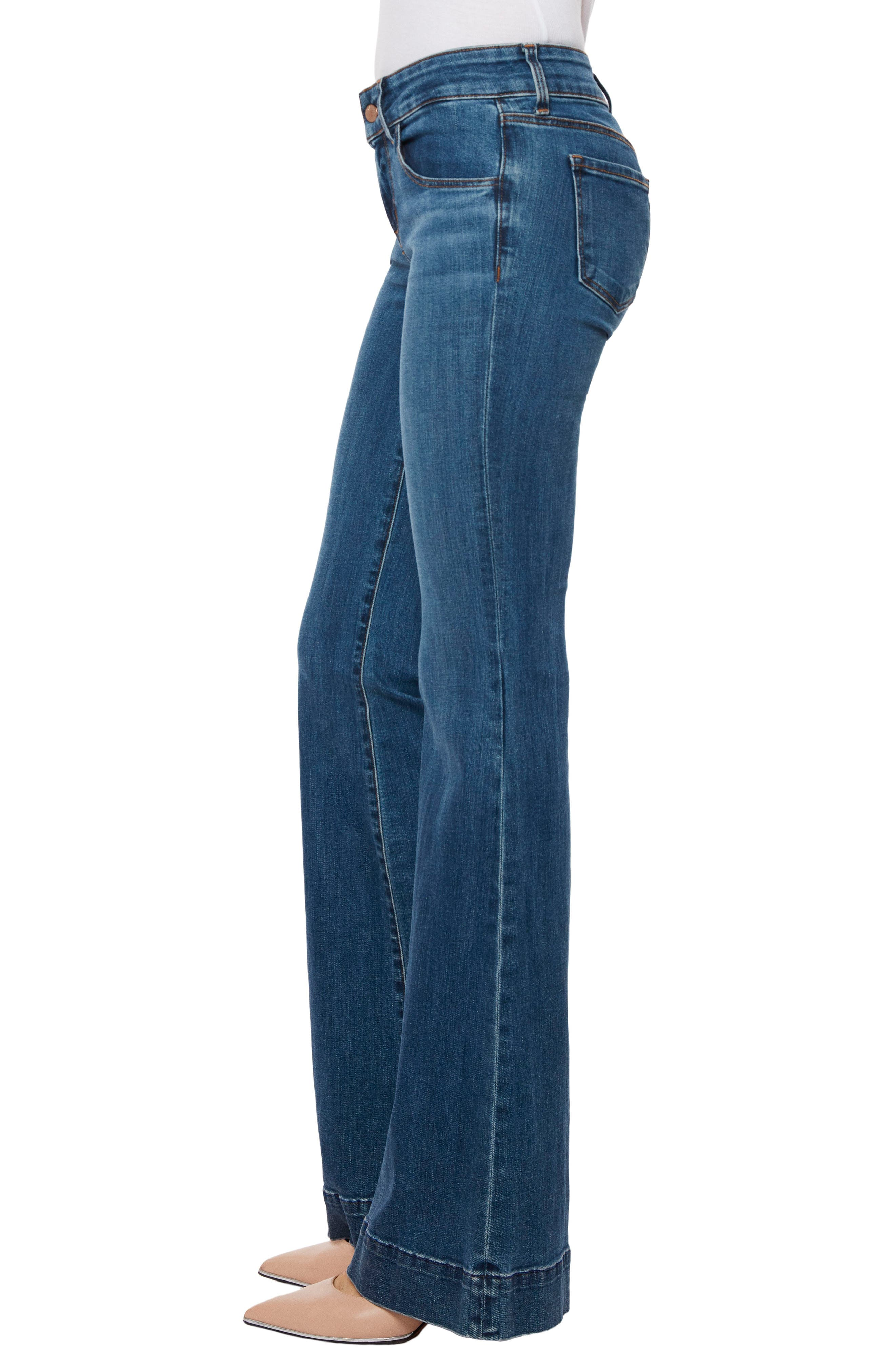 Love Story Flare Jeans,                             Alternate thumbnail 3, color,                             423