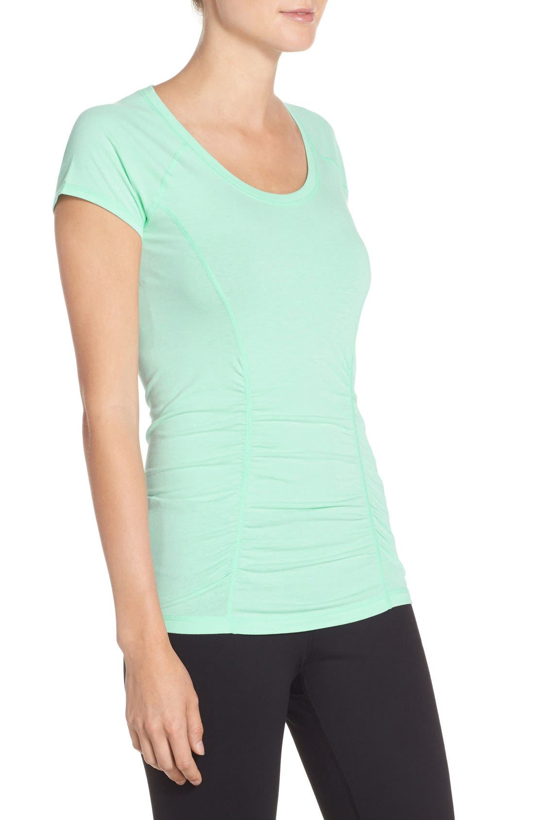 'Z 6' Ruched Tee,                             Alternate thumbnail 53, color,