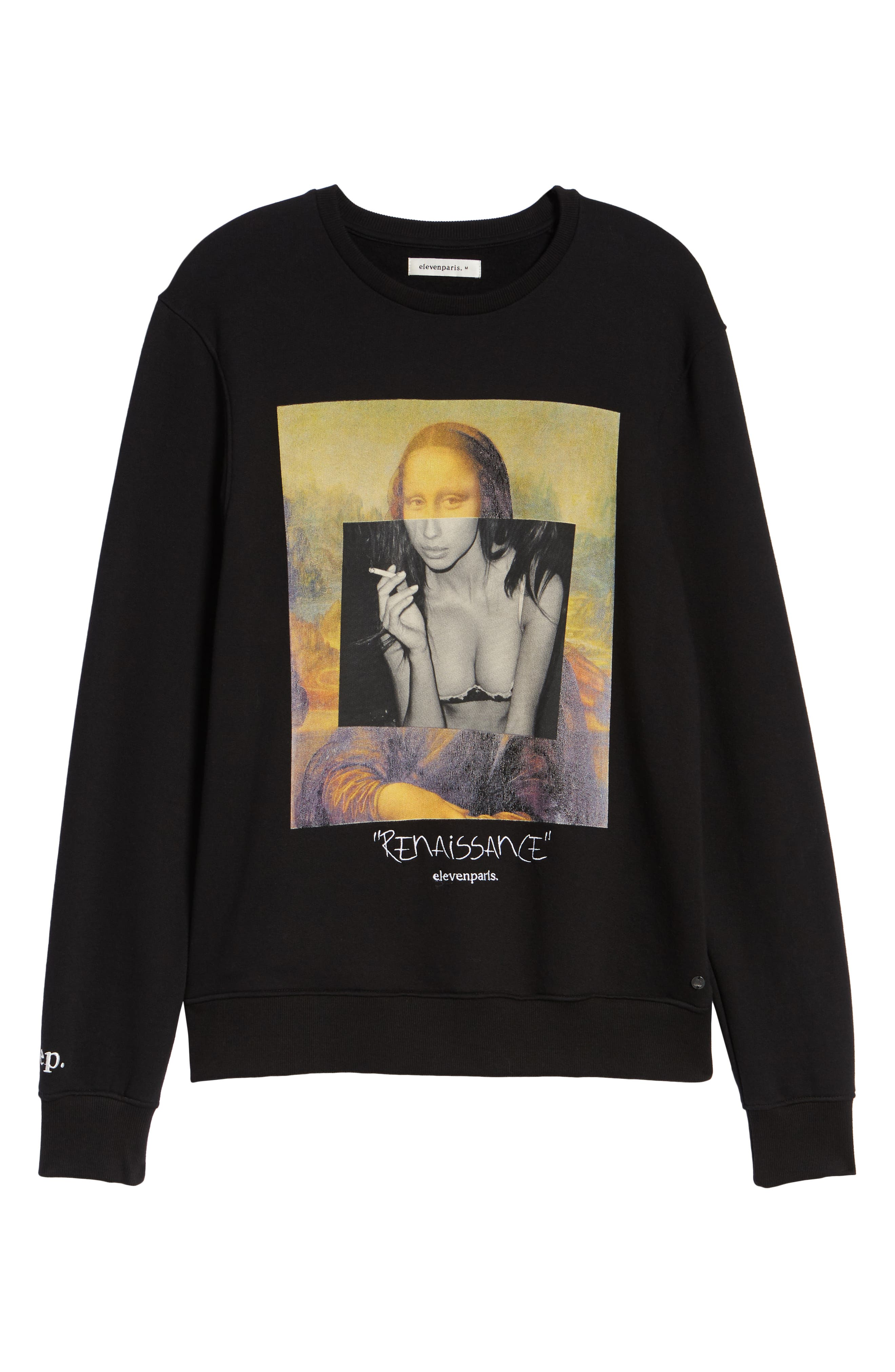 ELEVENPARIS,                             Renaissance Sweatshirt,                             Alternate thumbnail 6, color,                             002