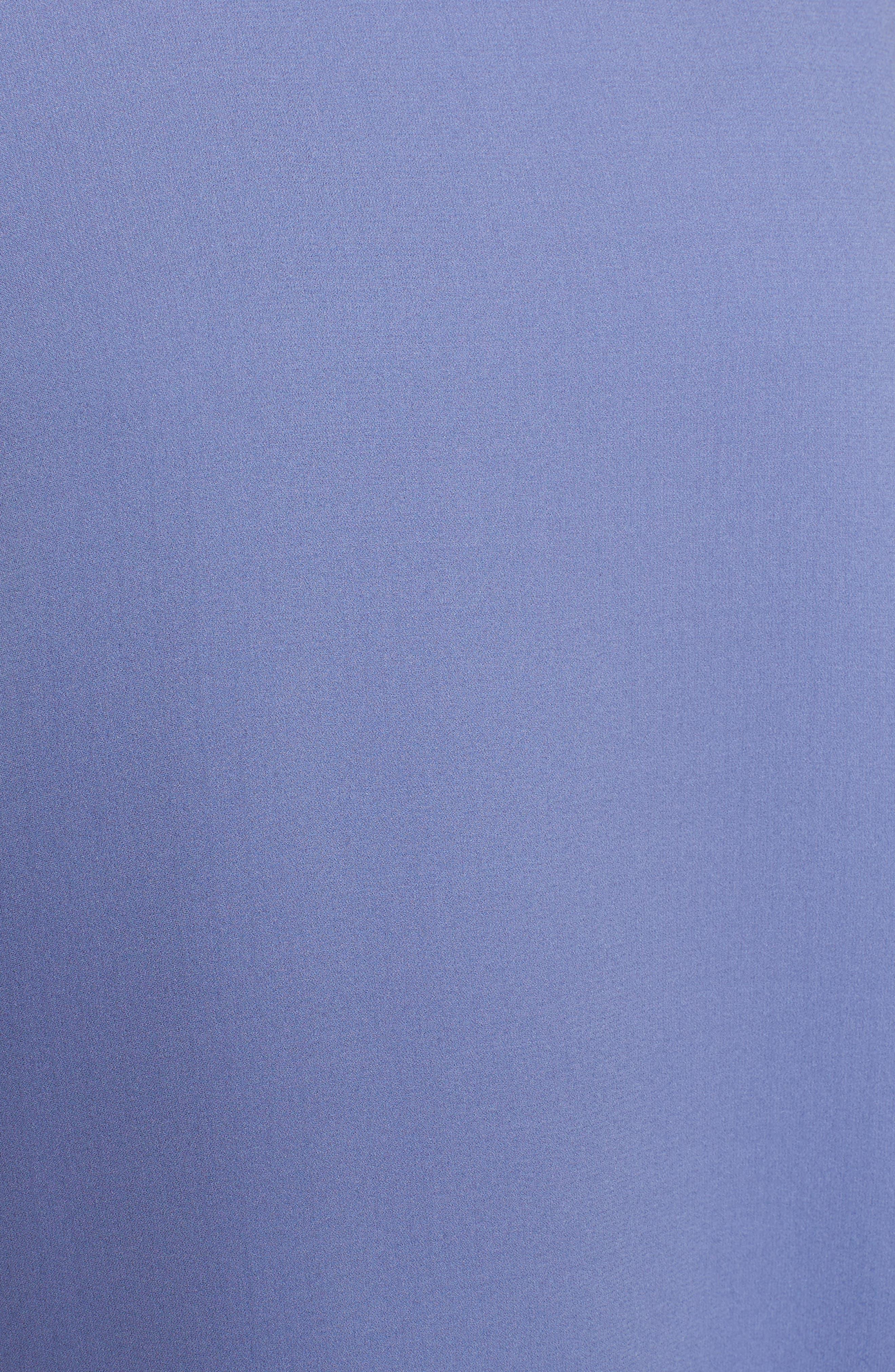 Slit Sleeve Silk Top,                             Alternate thumbnail 15, color,