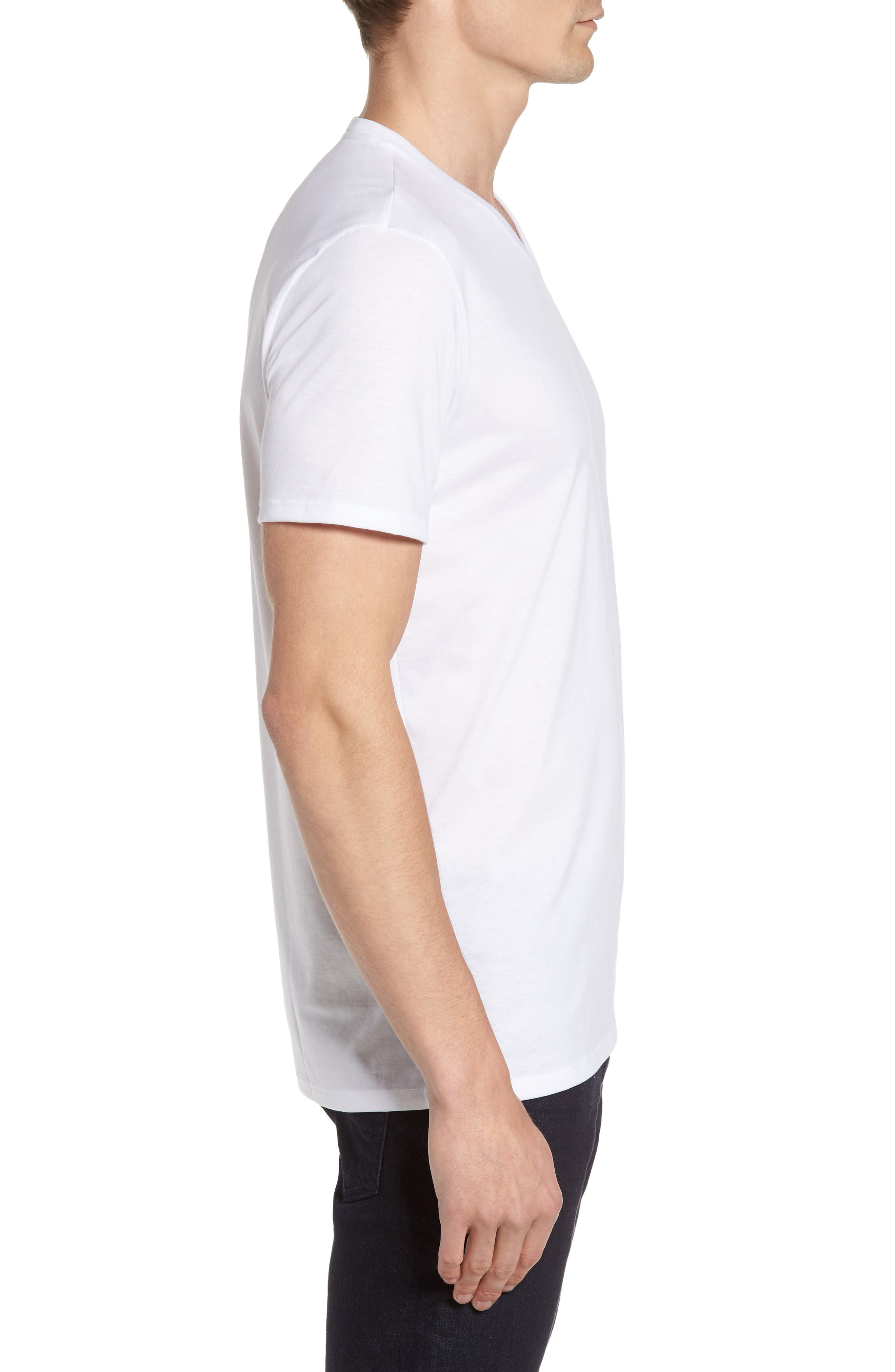V-Neck T-Shirt,                             Alternate thumbnail 13, color,