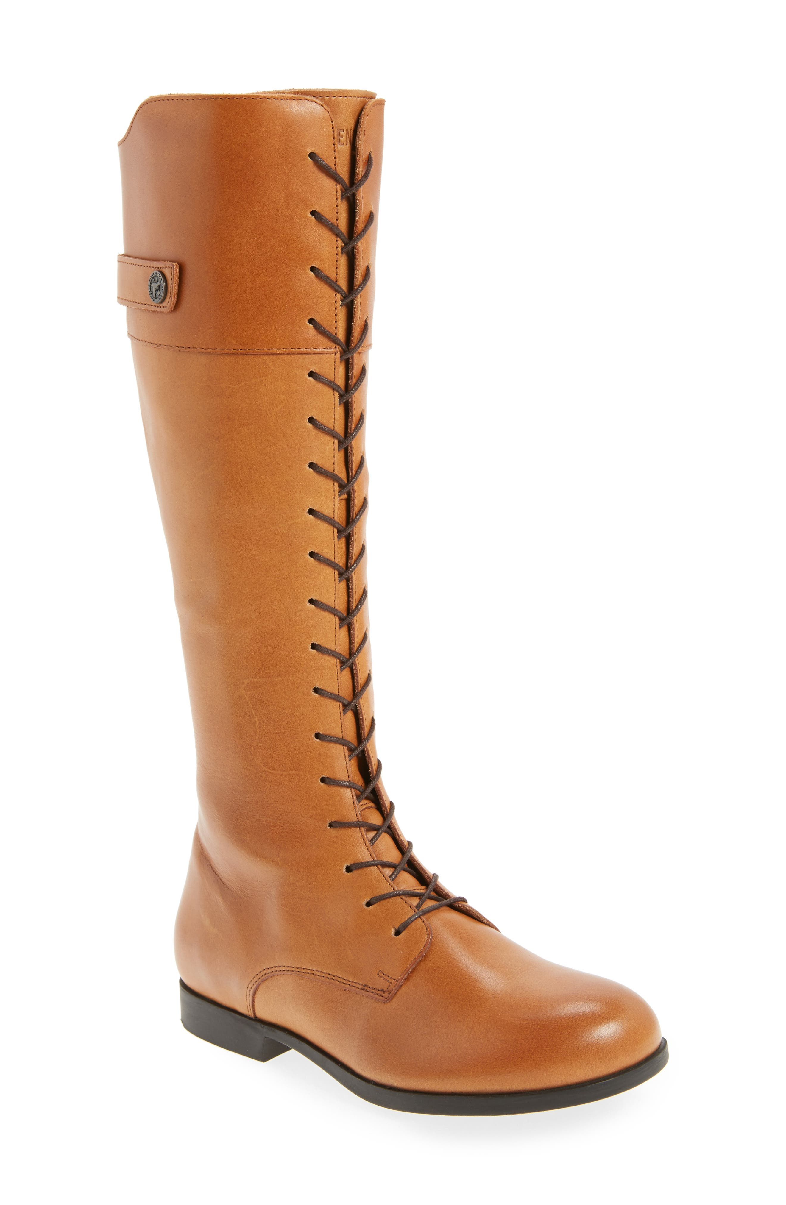 Longford Knee-High Lace-Up Boot,                             Main thumbnail 1, color,                             200