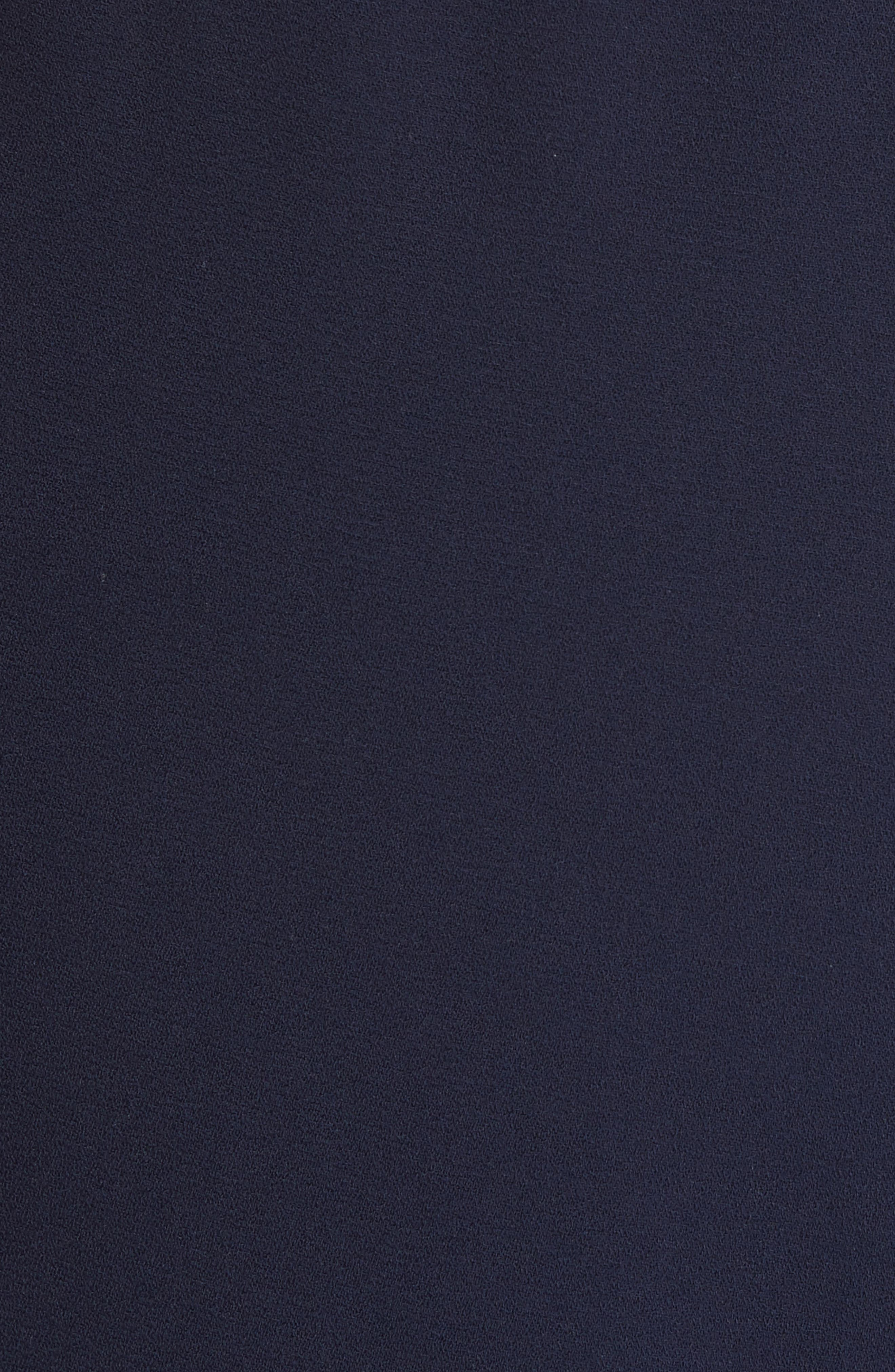 Shavon High Waist Side Slit Flare Pants,                             Alternate thumbnail 5, color,                             400