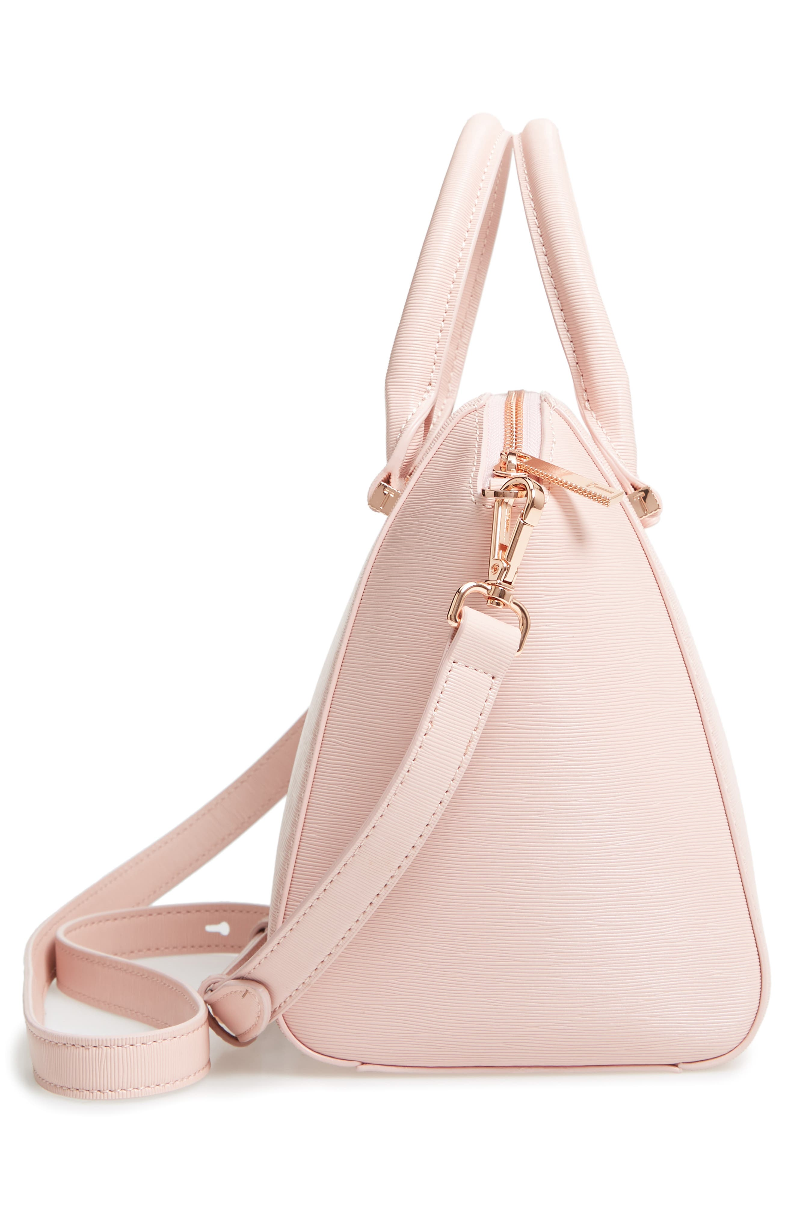 Bow Tote,                             Alternate thumbnail 5, color,                             LIGHT PINK