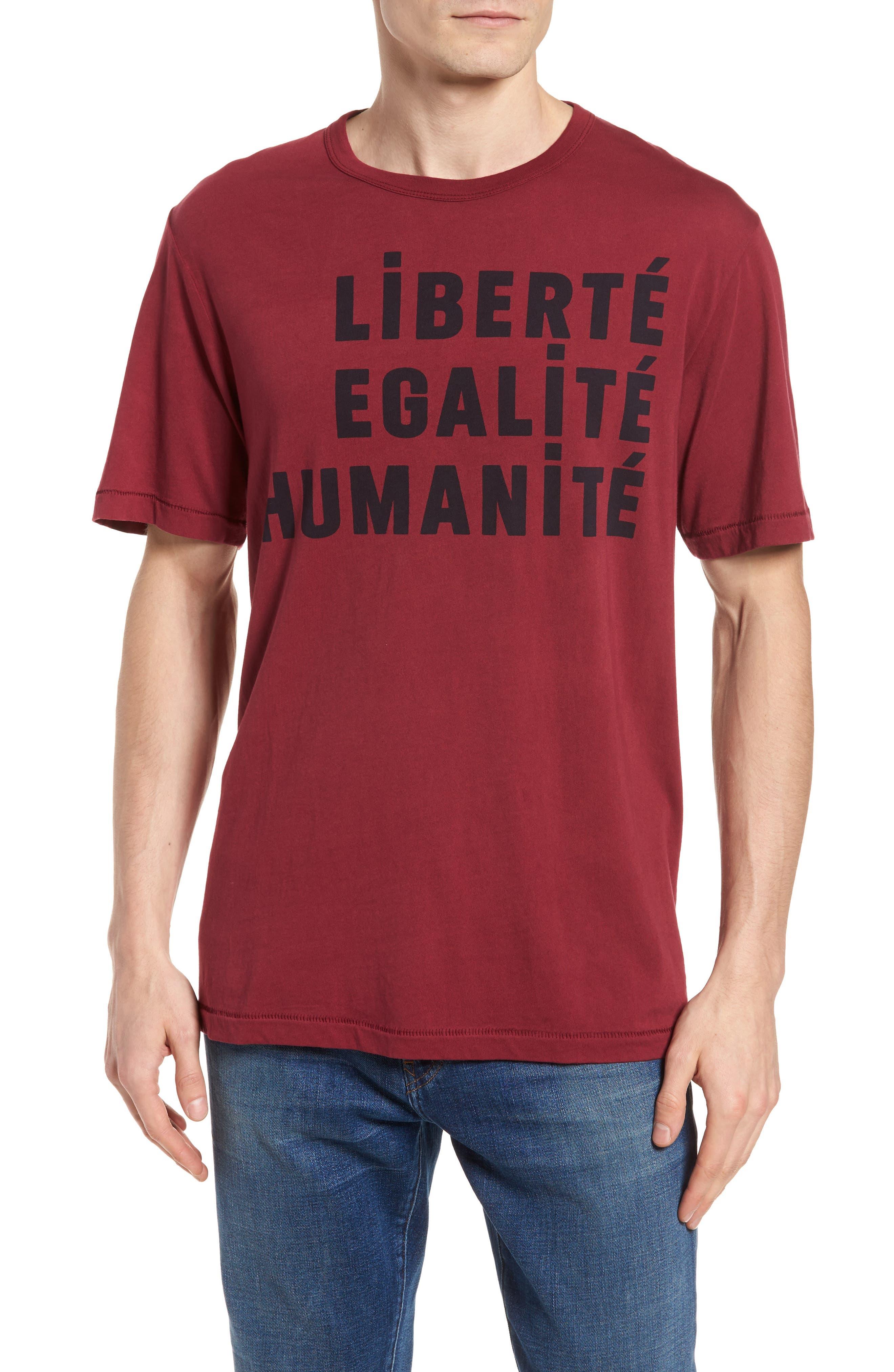 Égalité Regular Fit Graphic T-Shirt,                             Main thumbnail 1, color,                             600
