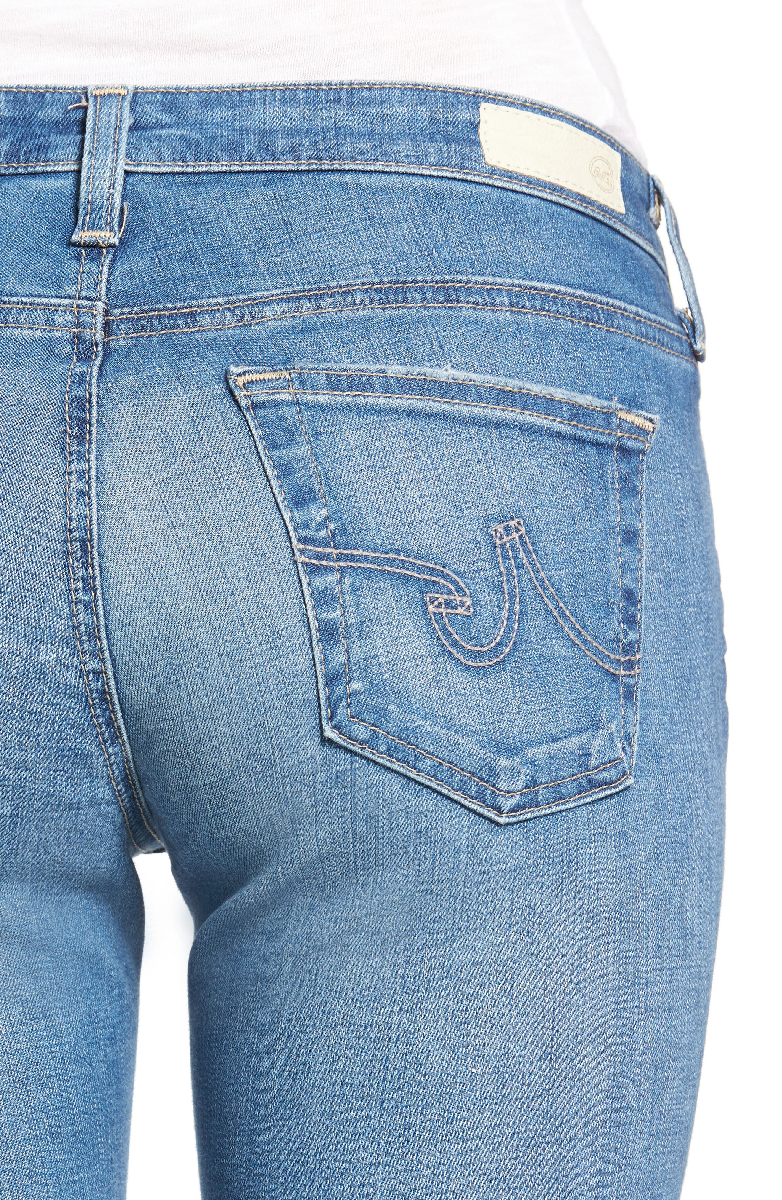'The Legging' Super Skinny Jeans,                             Alternate thumbnail 46, color,