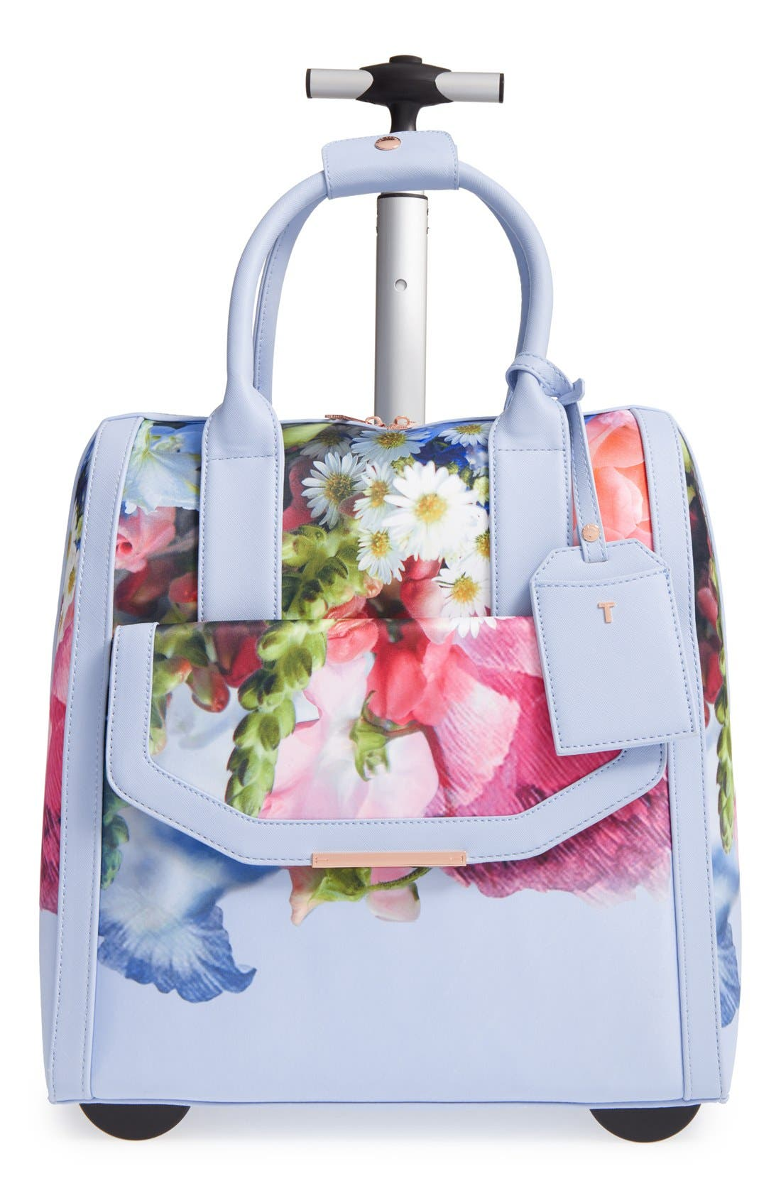 TED BAKER LONDON 'Vickey Floral Focus' Travel Bag, Main, color, 400
