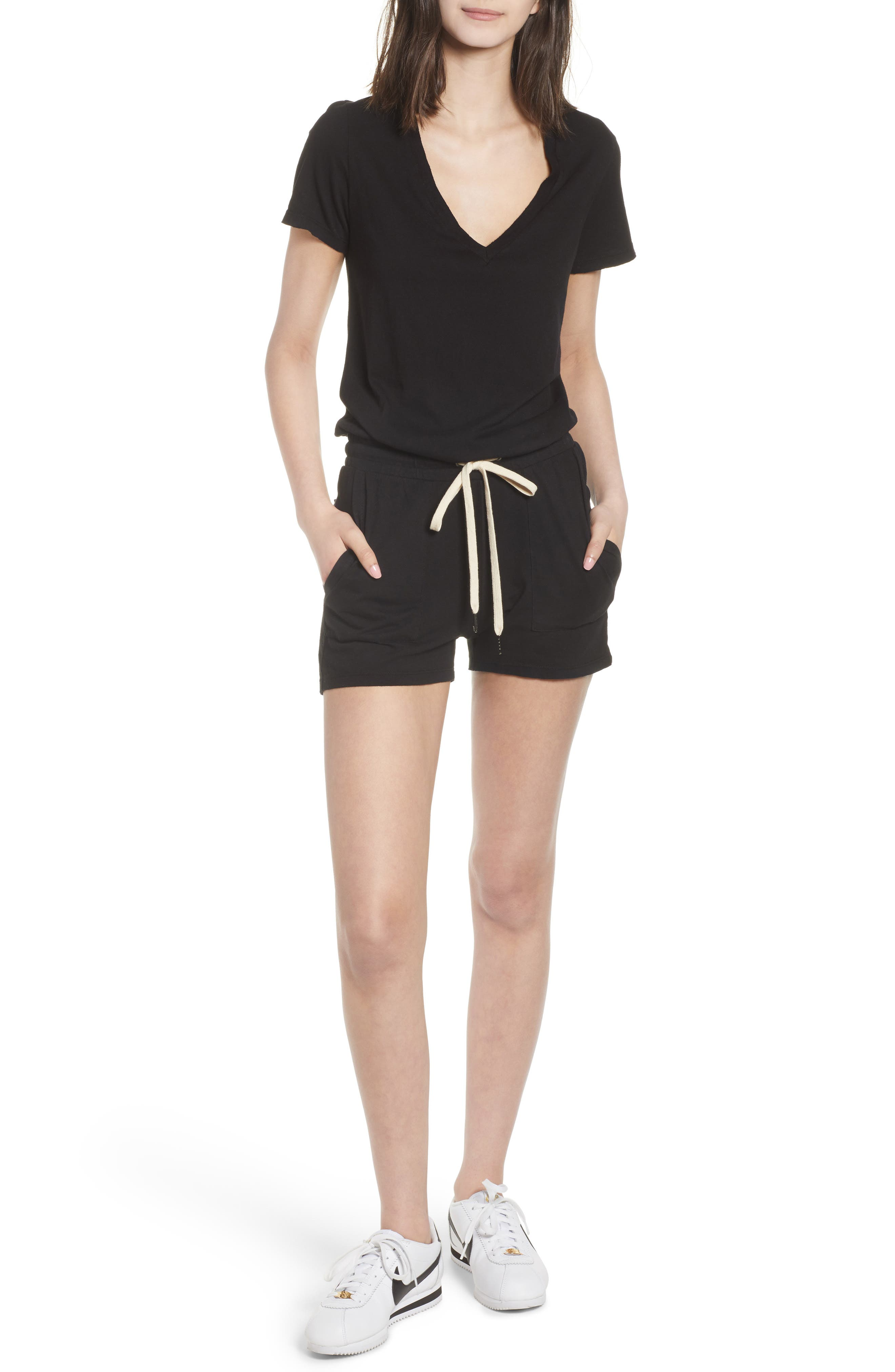 Breeze Cutout Romper,                             Main thumbnail 1, color,