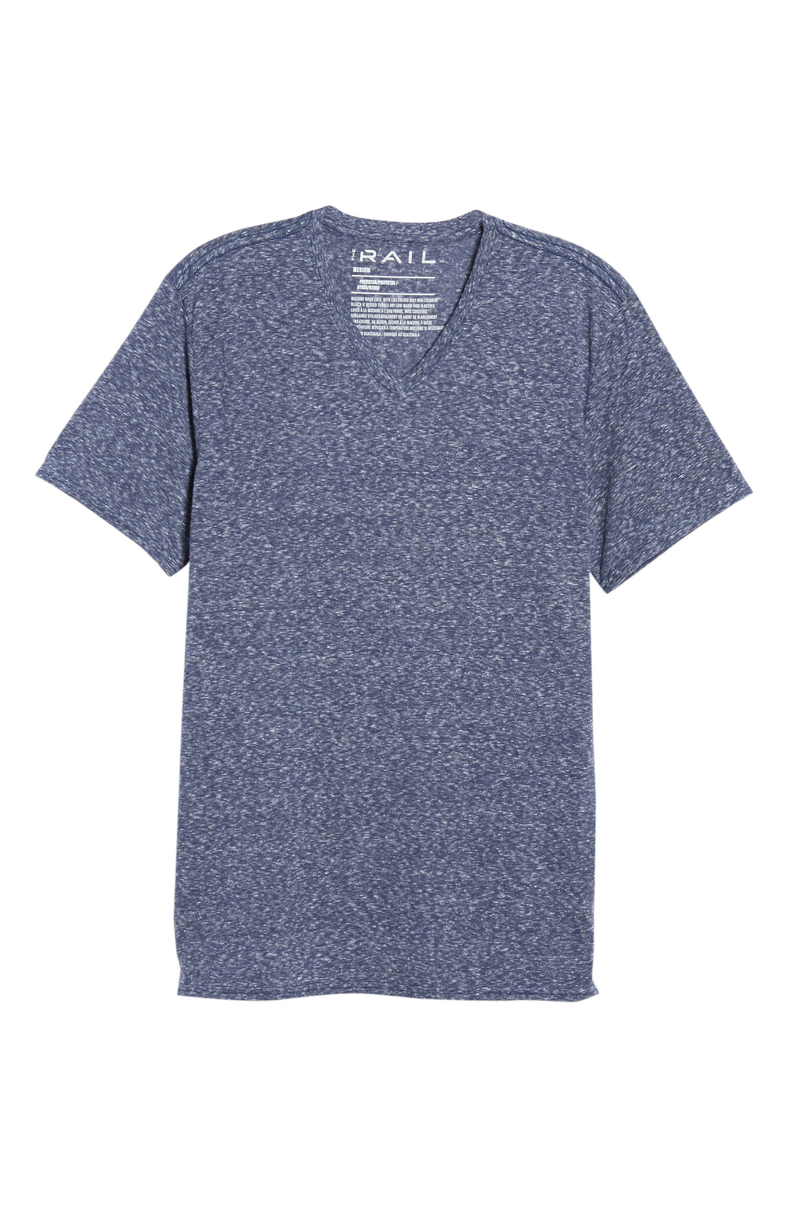 Jersey V-Neck T-Shirt,                             Alternate thumbnail 6, color,                             410