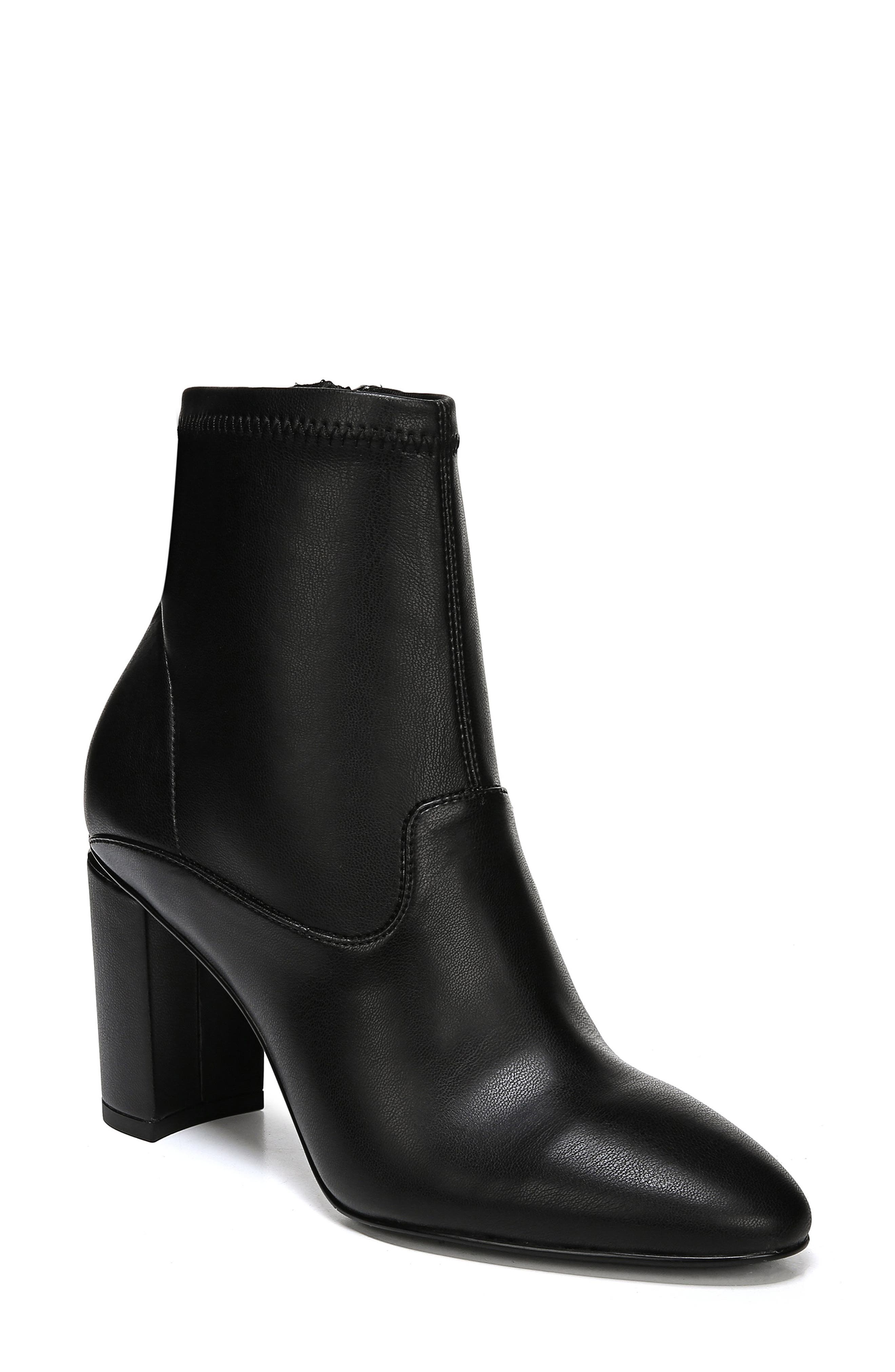 Eames Bootie,                             Main thumbnail 1, color,                             BLACK LEATHER