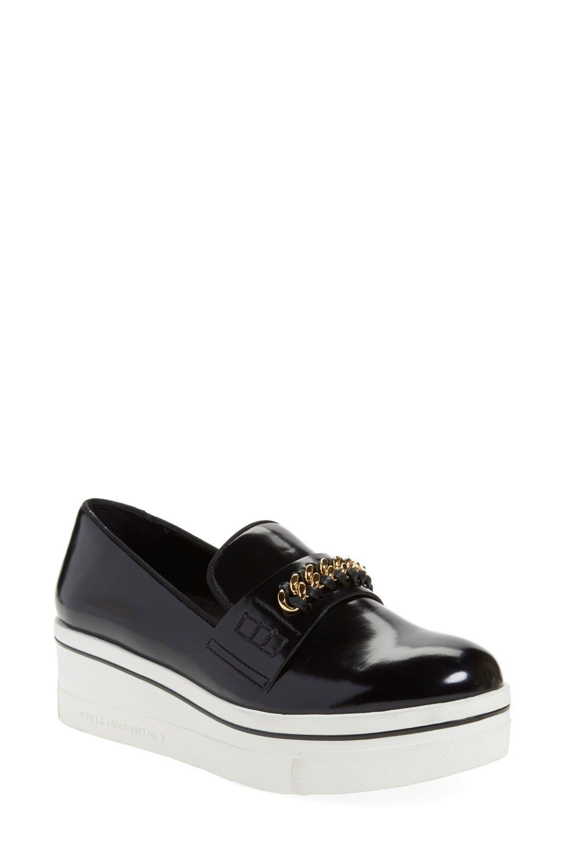 'Binx' Slip-On Platform Sneaker,                         Main,                         color, 001