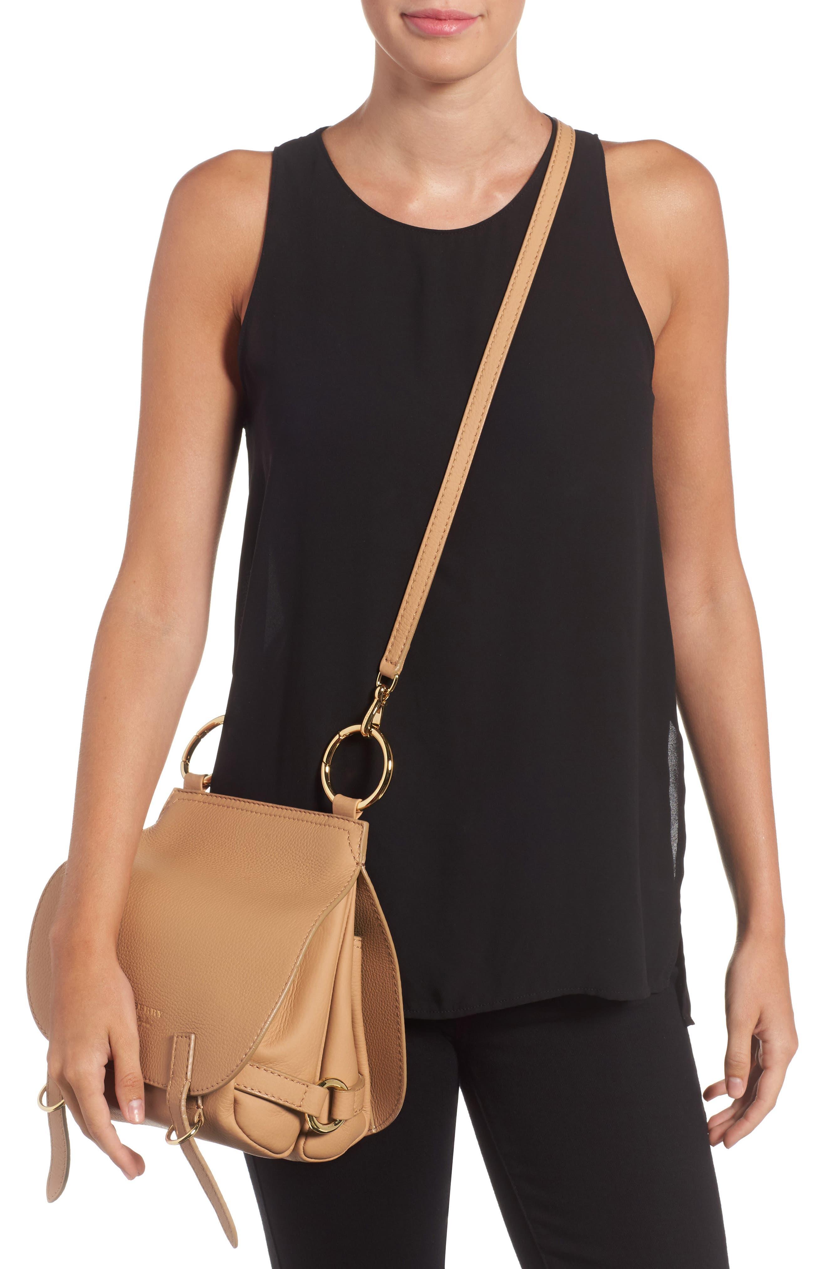 Bridle Deerskin Shoulder Bag,                             Alternate thumbnail 2, color,                             835