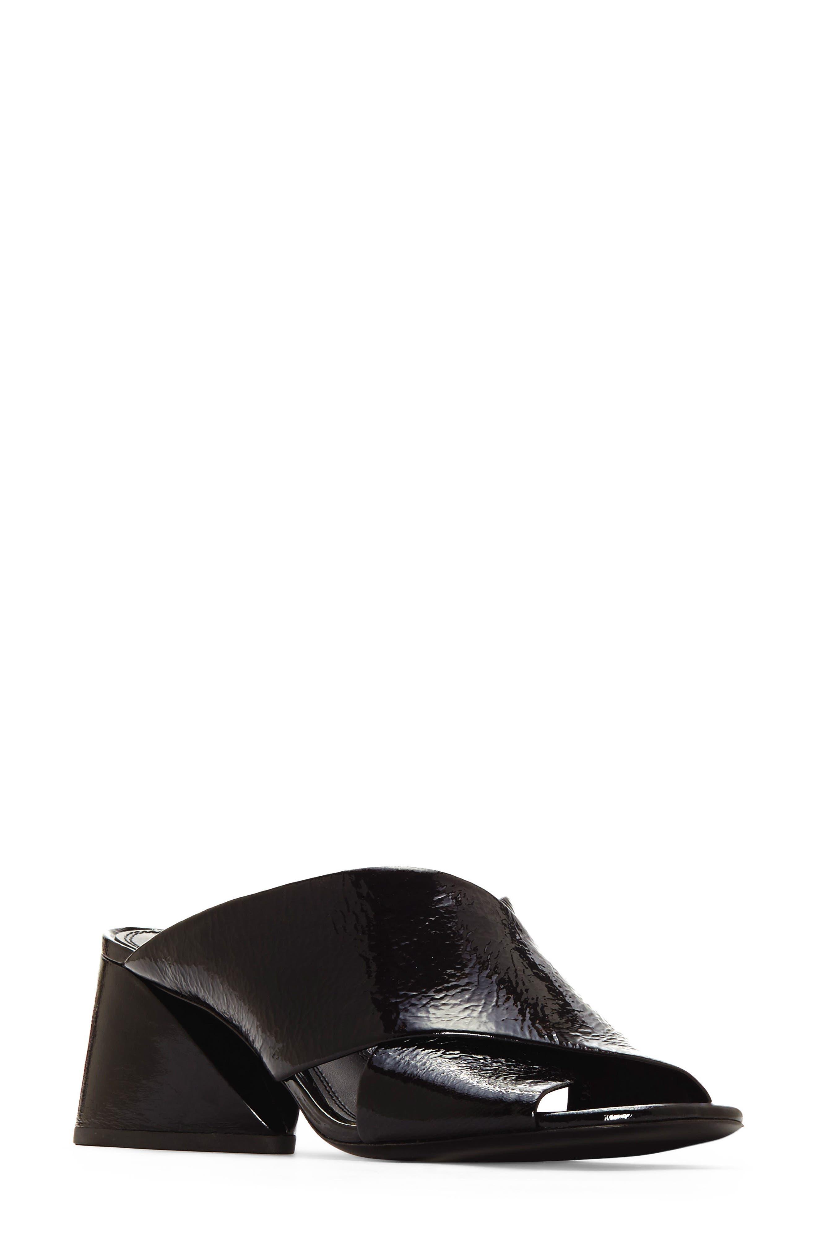 Lenilow Cross Strap Sandal,                         Main,                         color, 001