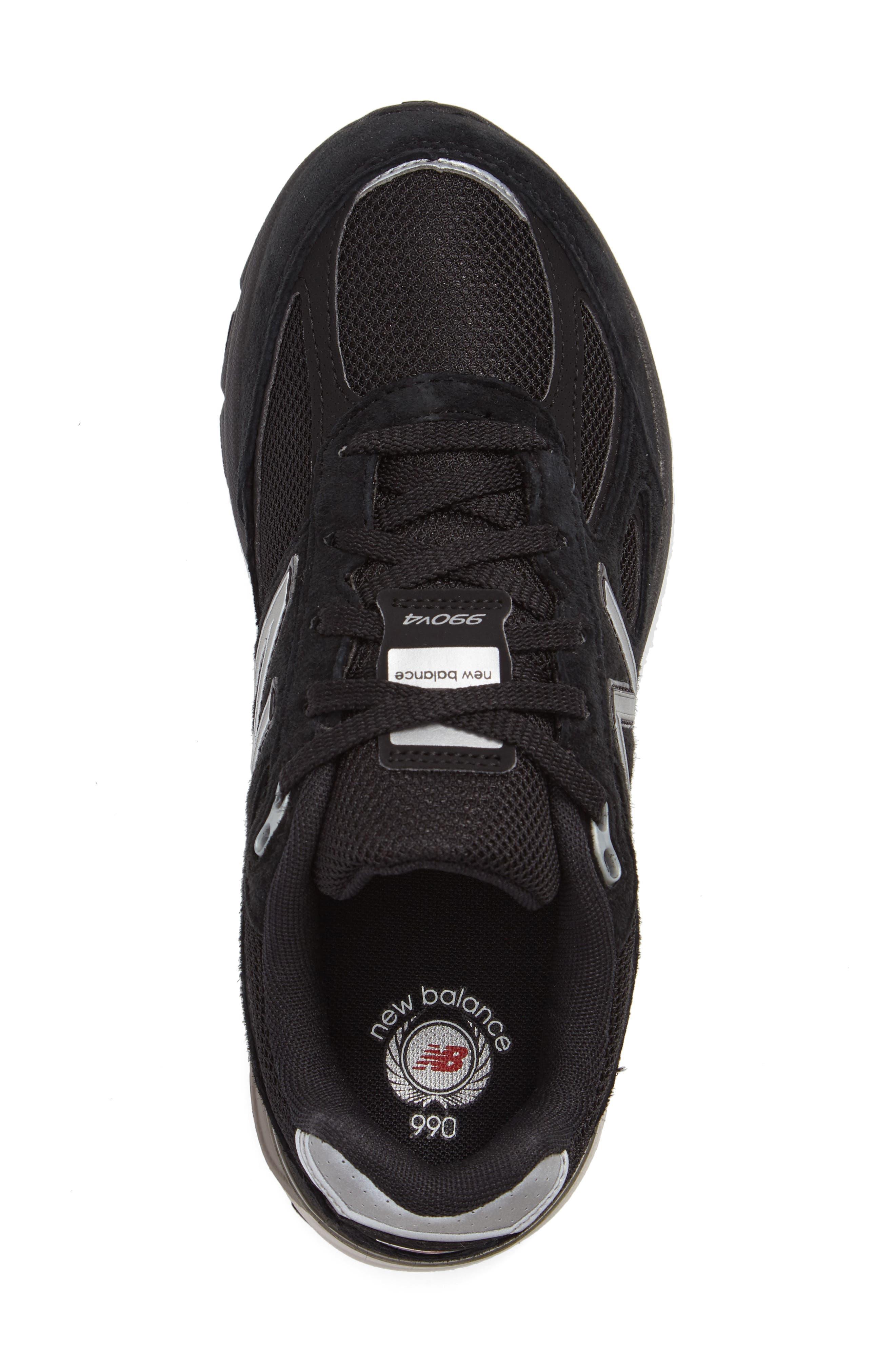 990v4 Sneaker,                             Alternate thumbnail 3, color,                             001