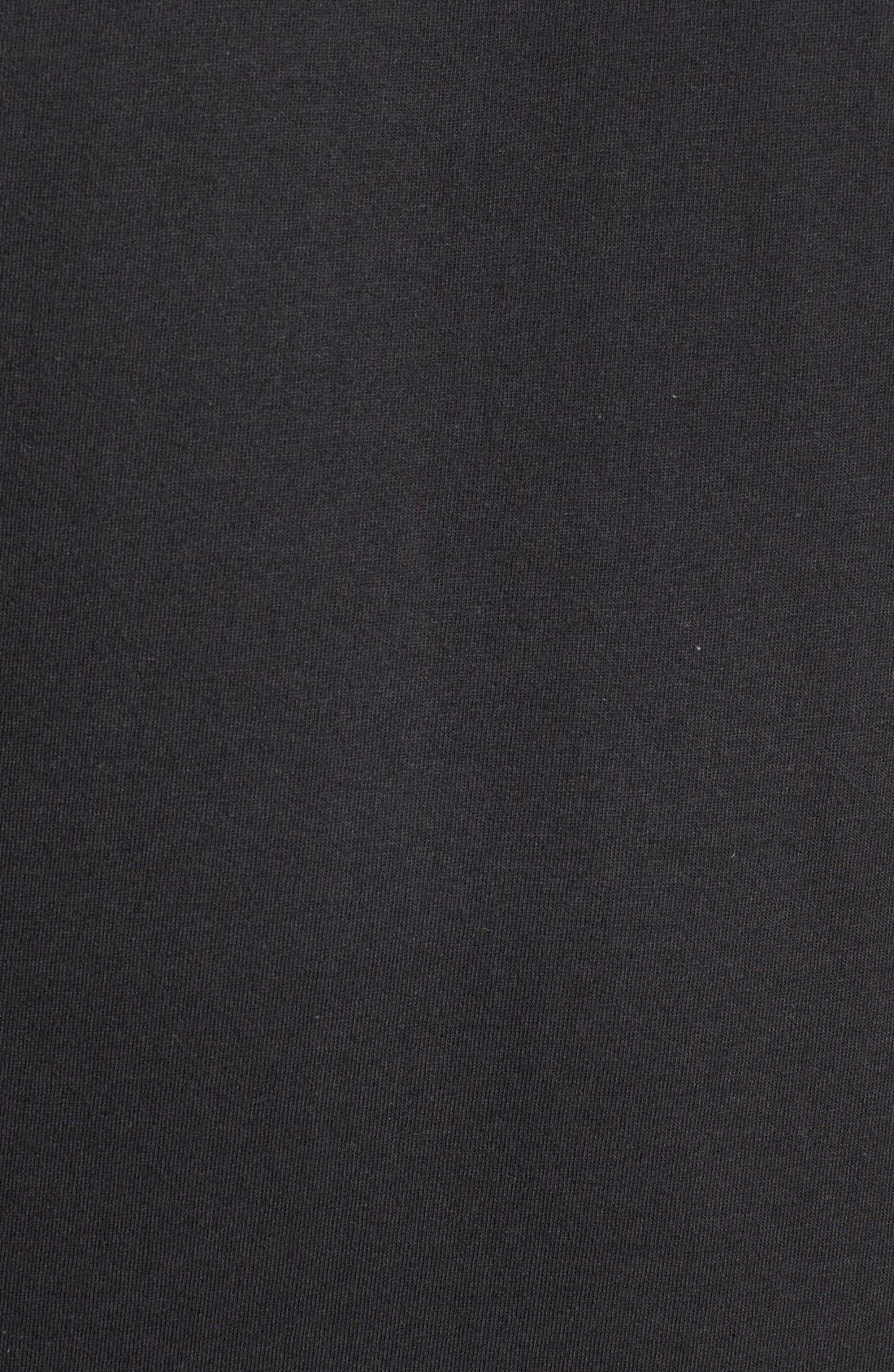 'Red Box' Graphic T-Shirt,                             Alternate thumbnail 3, color,                             TNF BLACK/ TNF WHITE